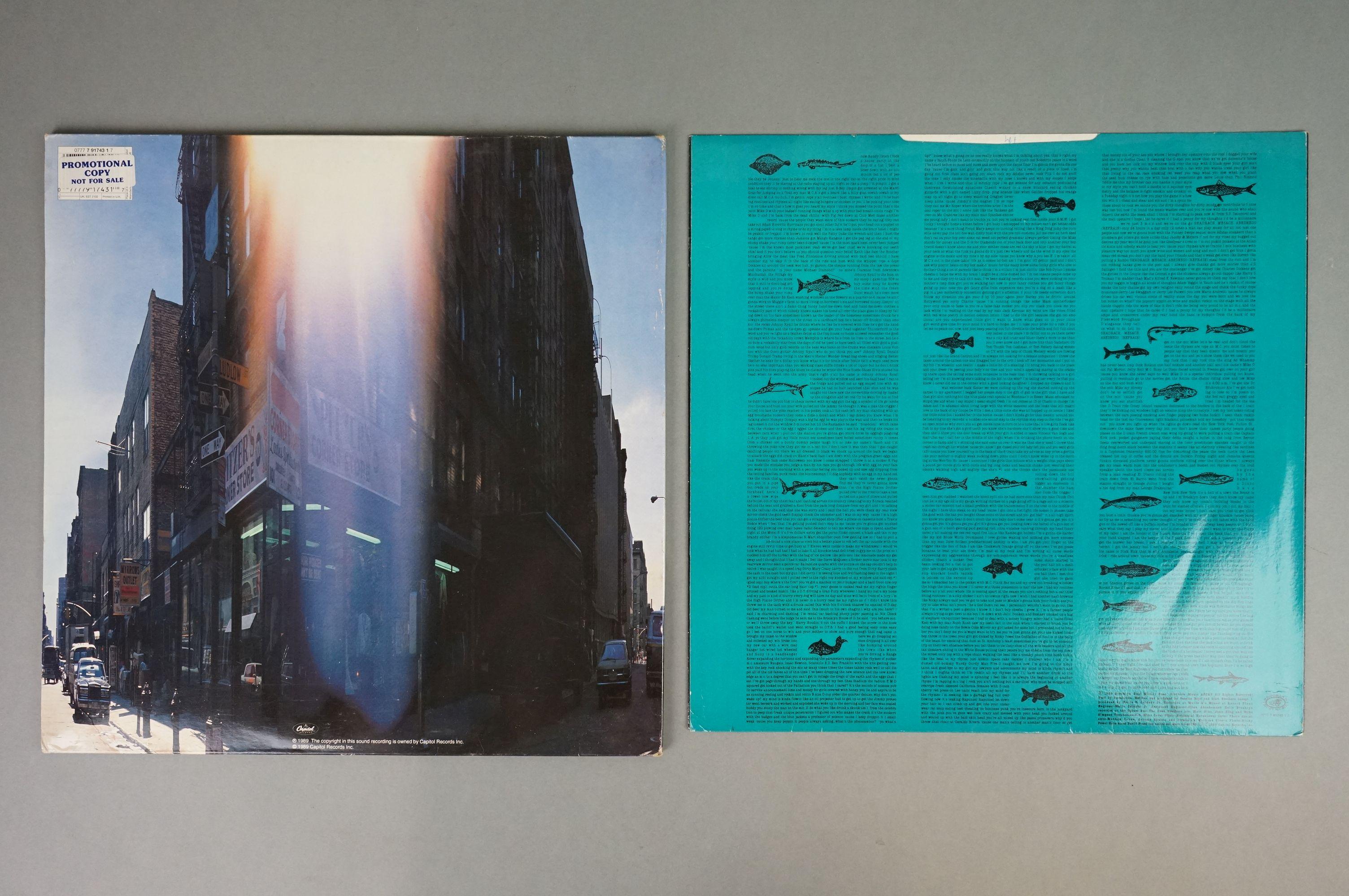 Vinyl - Beastie Boys Paul's Boutique LP on Capitol UK 077779174317 UKEST2102 with 'promotional - Image 3 of 6