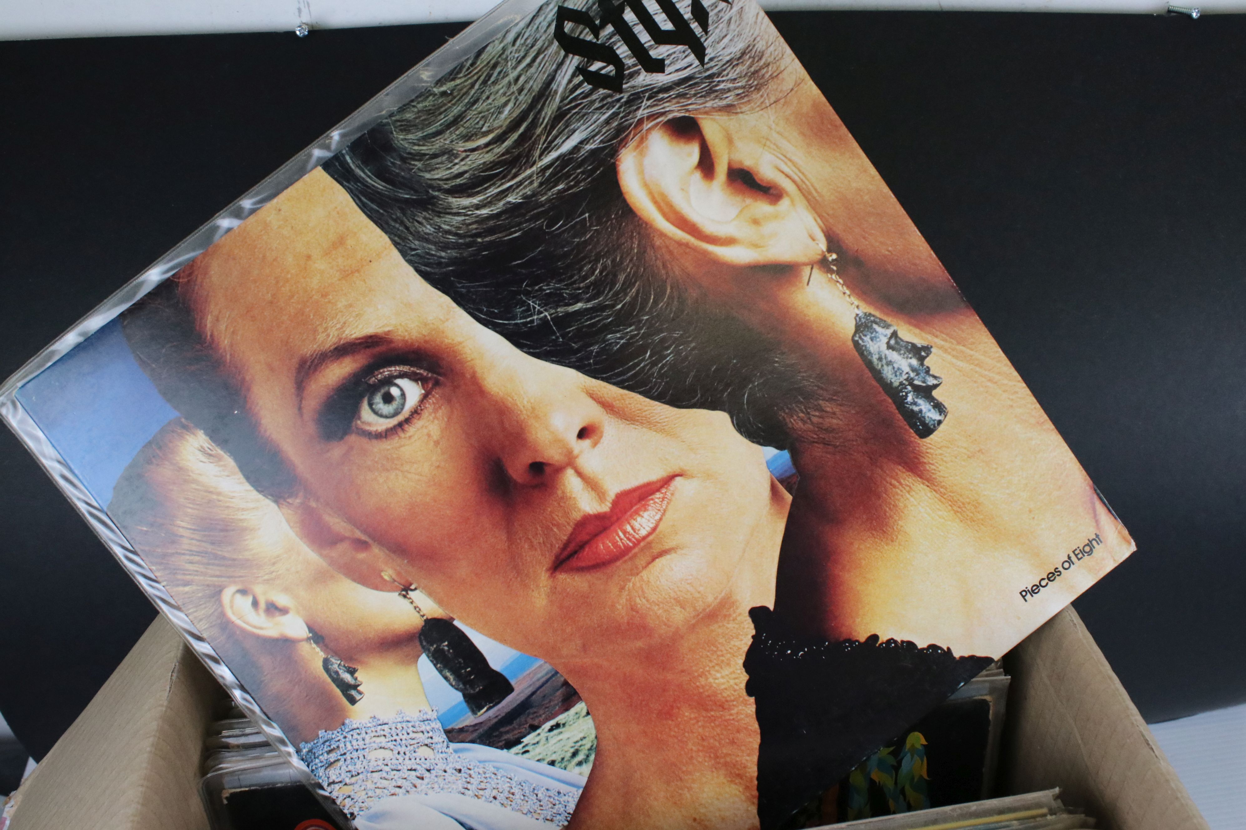 Vinyl - Around 65 US Rock LPs to include Rush, Todd Rundgren, Kiss, Steeley Dan, Lone Star etc, - Image 7 of 9