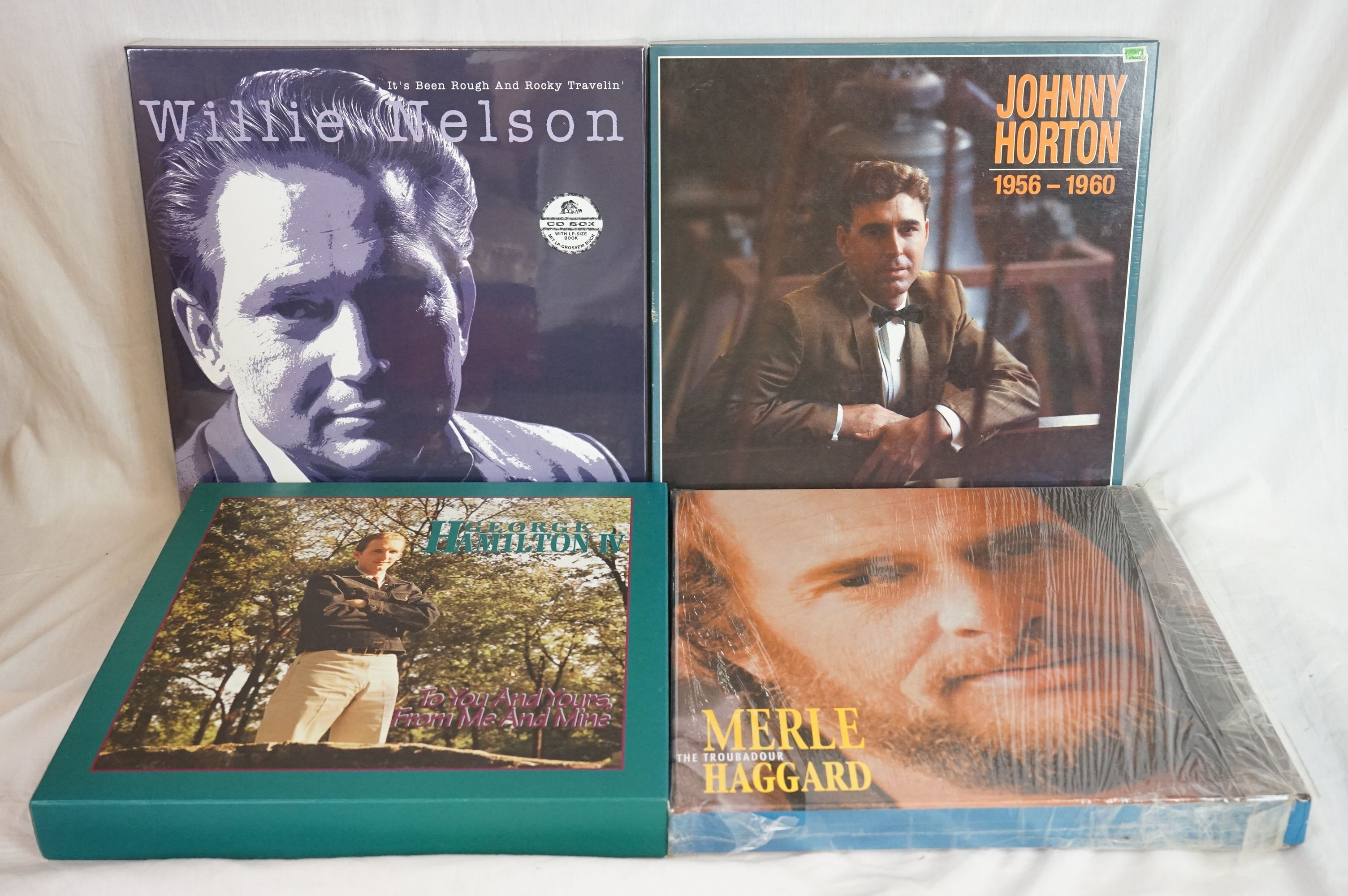 Box Sets - 13 Box Sets to include Cliff Bruner, Fats Domino, The Kingston Trio, The Blue Sky Boys - Image 2 of 3