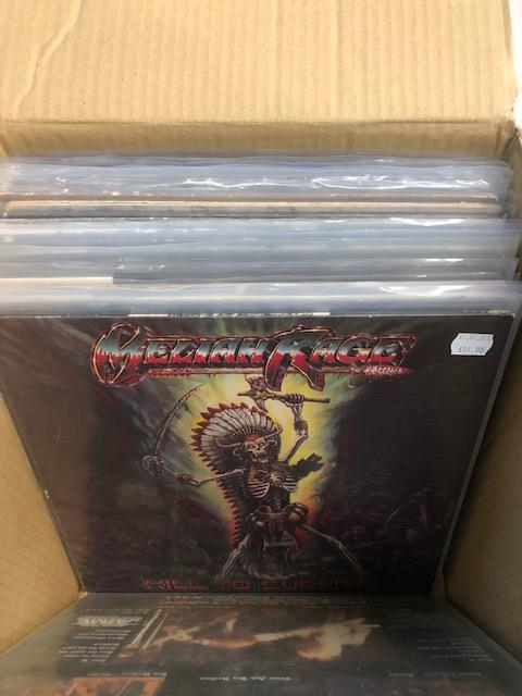 Vinyl - Approx 65 Rock & Metal LP's featuring KISS, Queen, Black Widow, Iron Maiden, AC/DC and more - Image 21 of 27