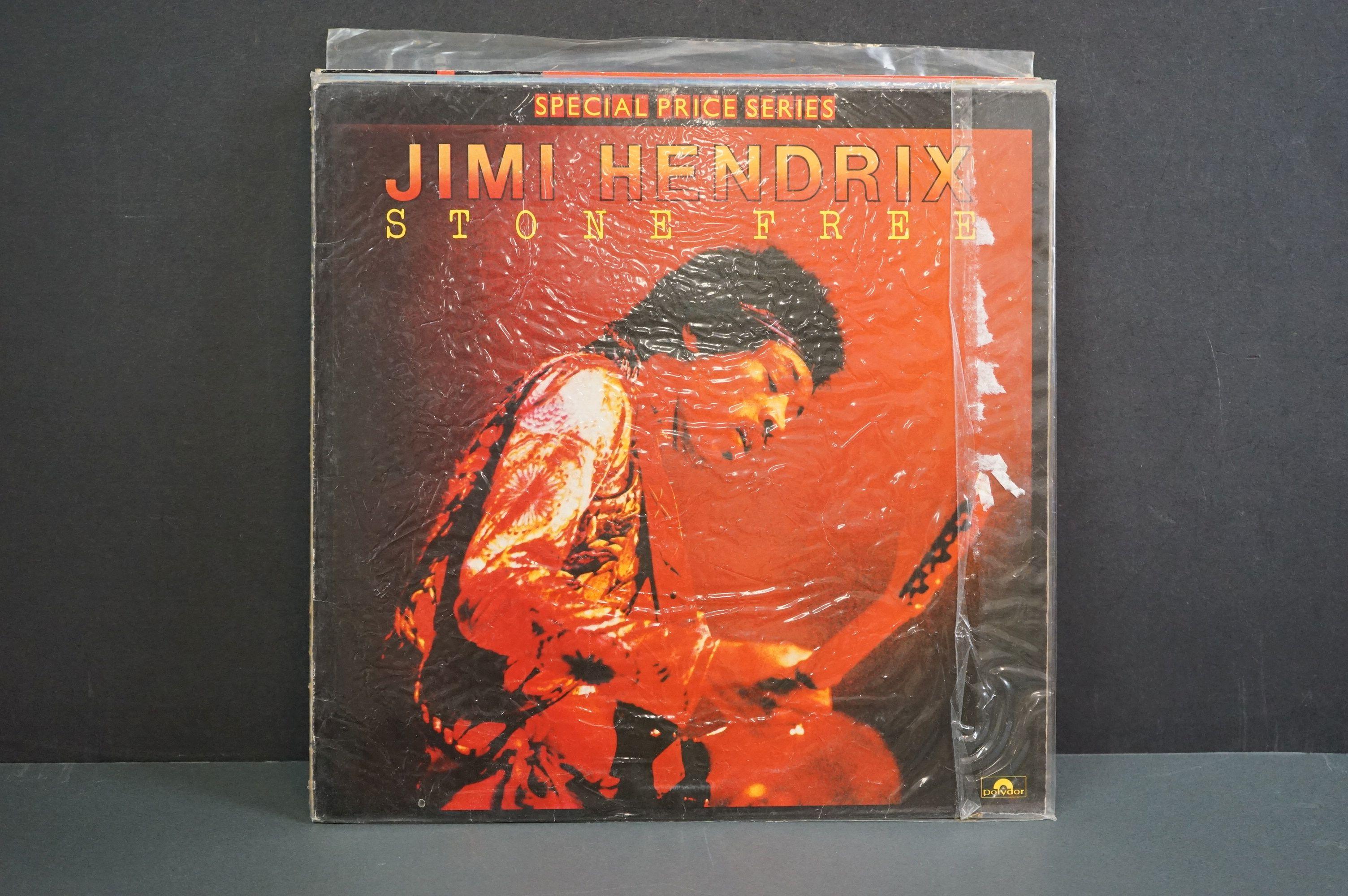 Vinyl - Nine Jimi Hendrix LPs to include Smash Hits, Hey Joe (Italian pressing), Stone Free, Jimi - Image 4 of 9
