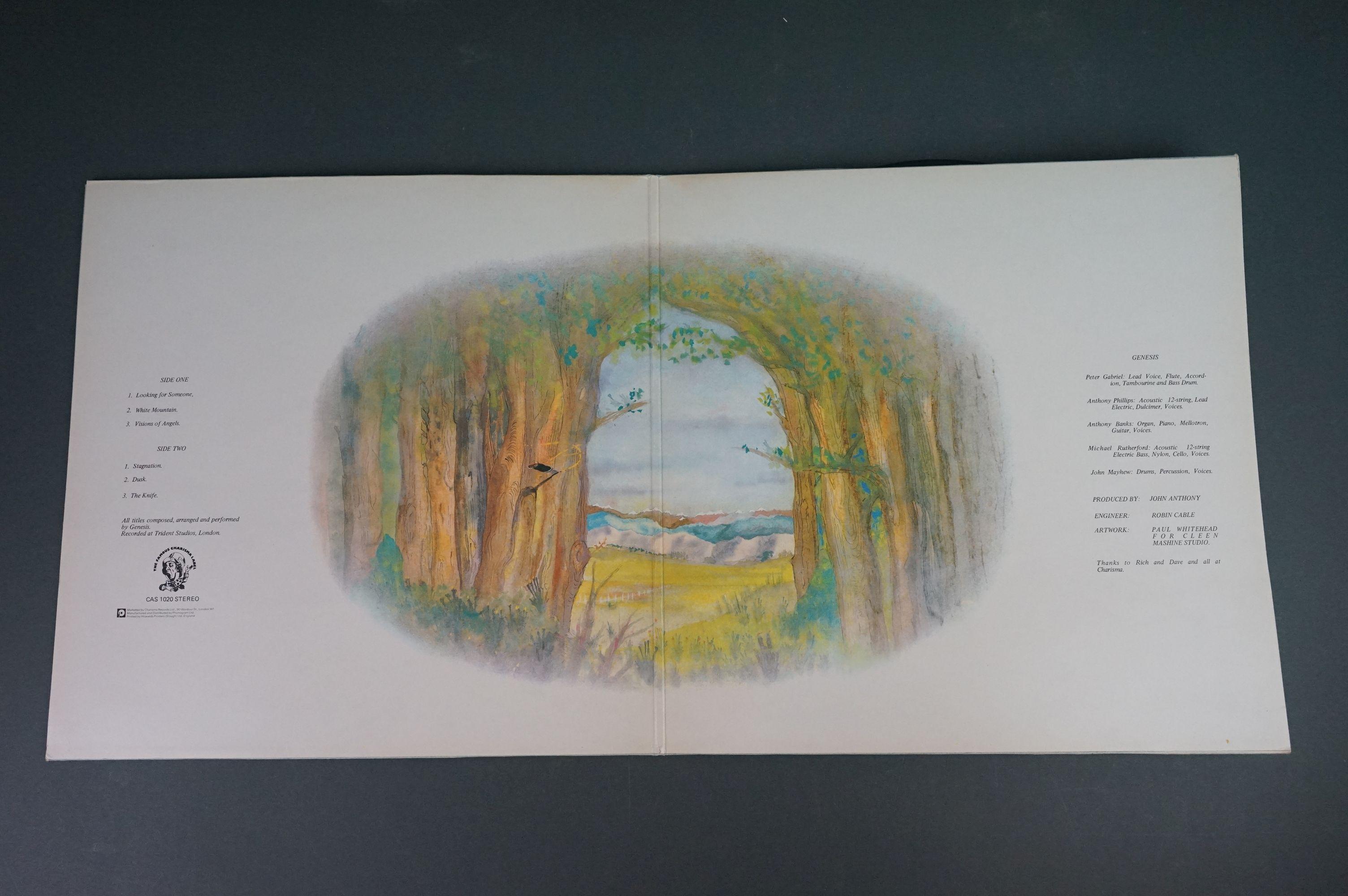 Vinyl - Five Genesis LPs to include Trespass (CAS1020), Nursery Cryme (CAS1052), Foxtrot ( - Image 3 of 9
