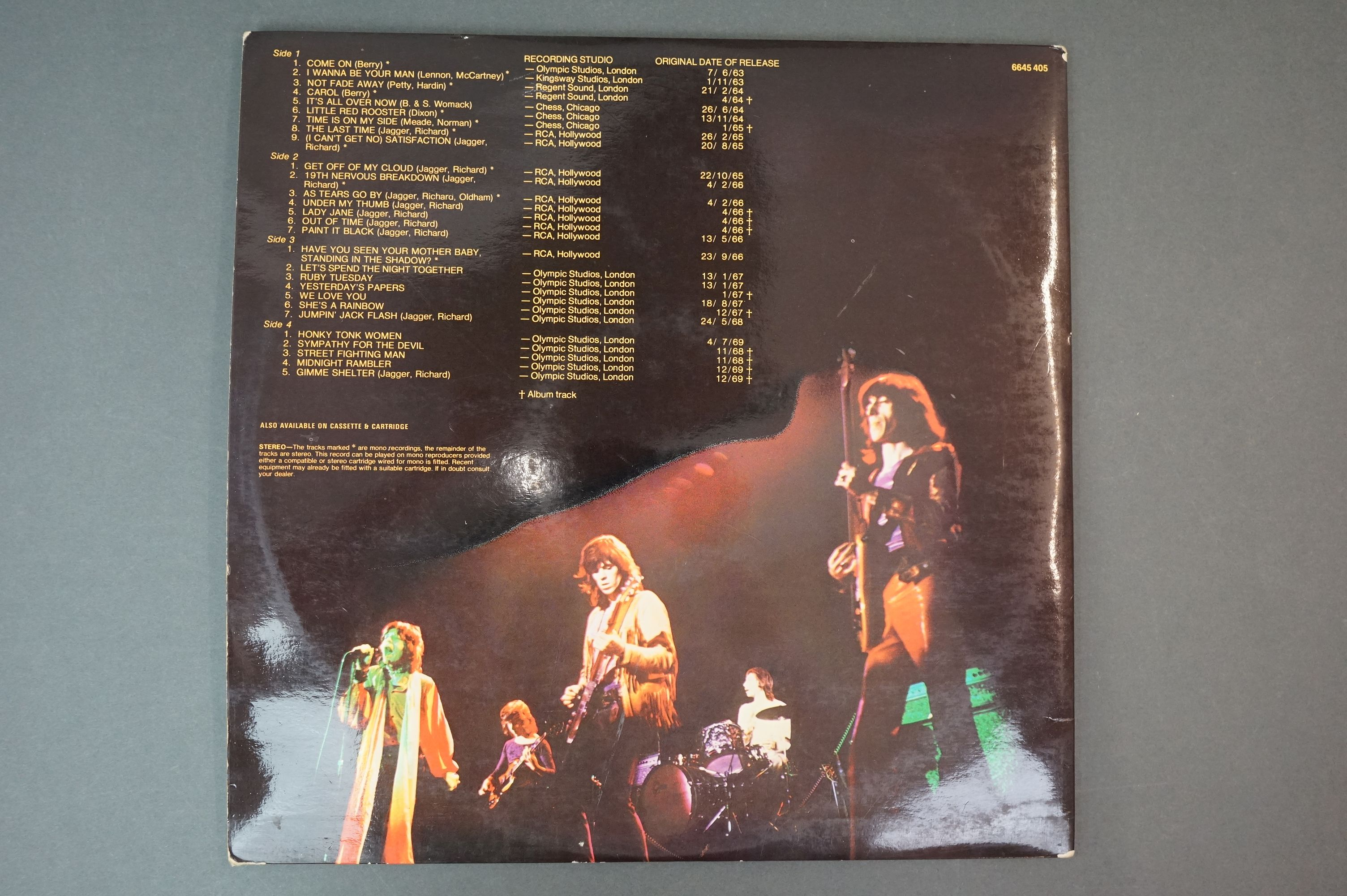 Vinyl - Rolling Stones 3 LP's to include Rolled Gold and Self Titled (both Dutch pressings), and - Image 5 of 10
