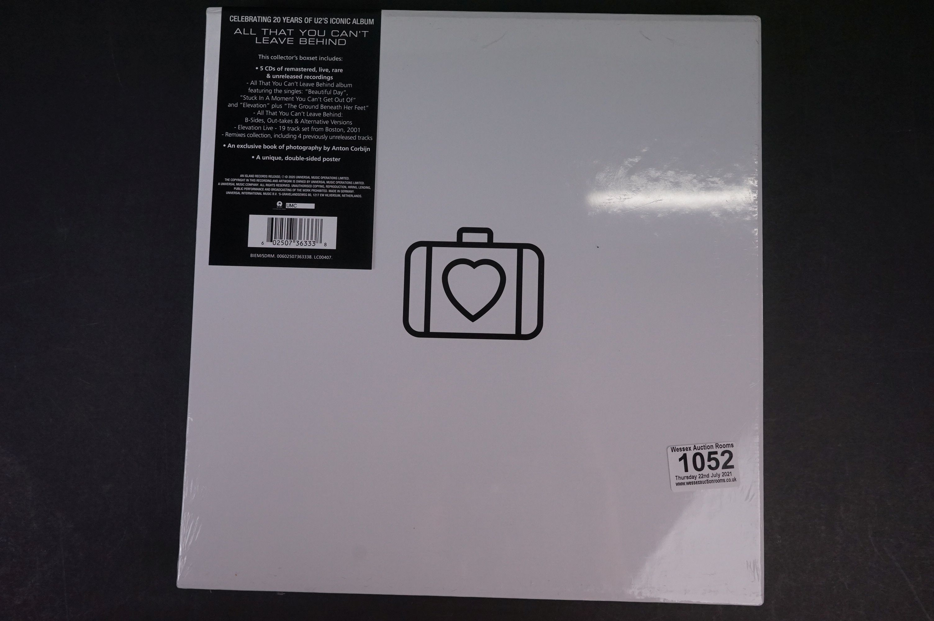 CD - U2 All That You Can't Leave Behind Super Deluxe CD Box Set, LC00407, sealed - Image 2 of 2