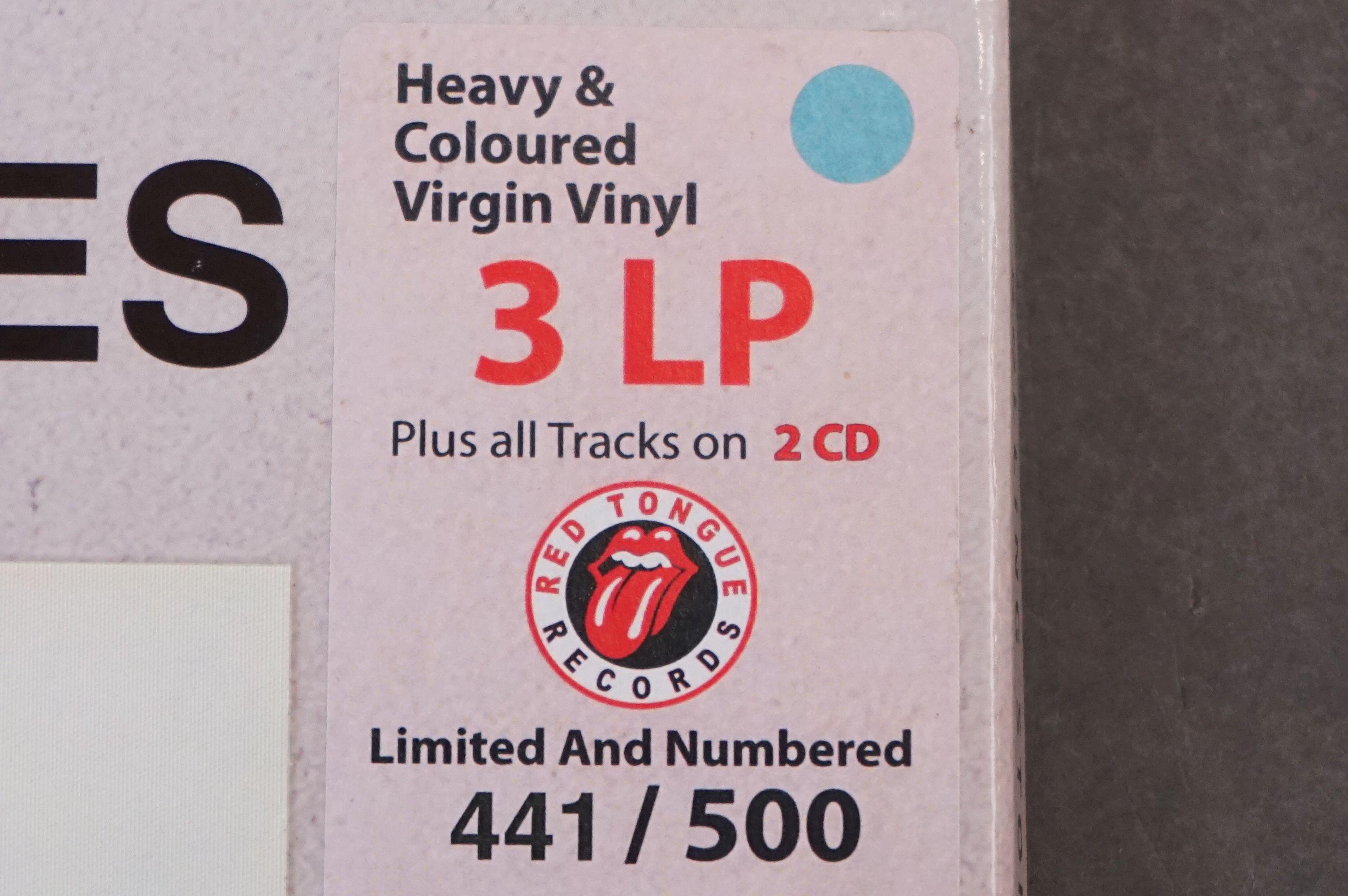 Vinyl - ltd edn The Real Alternate Album Rolling Stones Let It Bleed 3 LP / 2 CD Box Set RTR011, - Image 9 of 9