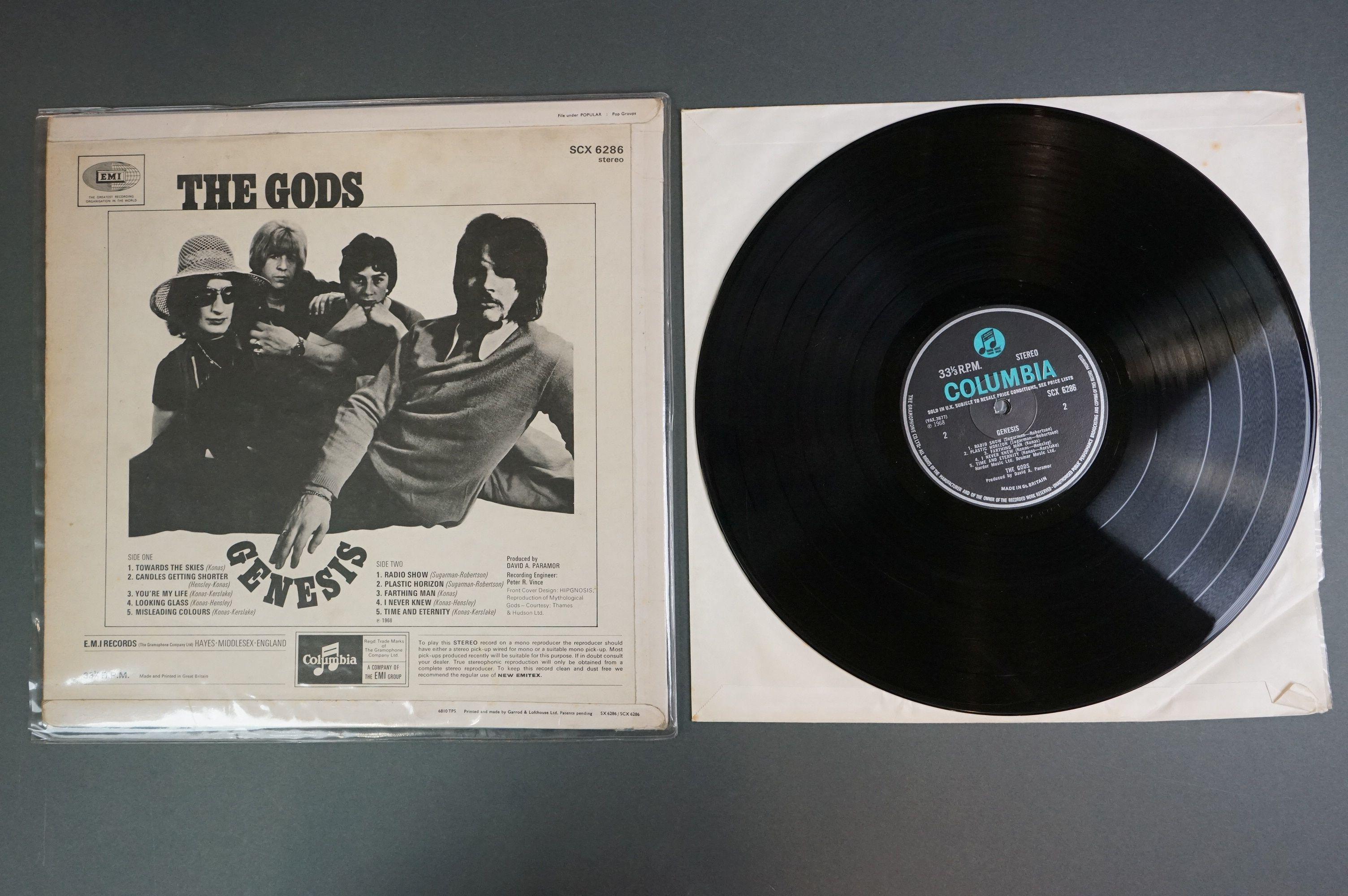 Vinyl - The Gods - Genesis LP SCX6286 sold in UK to label, sleeve and vinyl vg+ - Image 3 of 3
