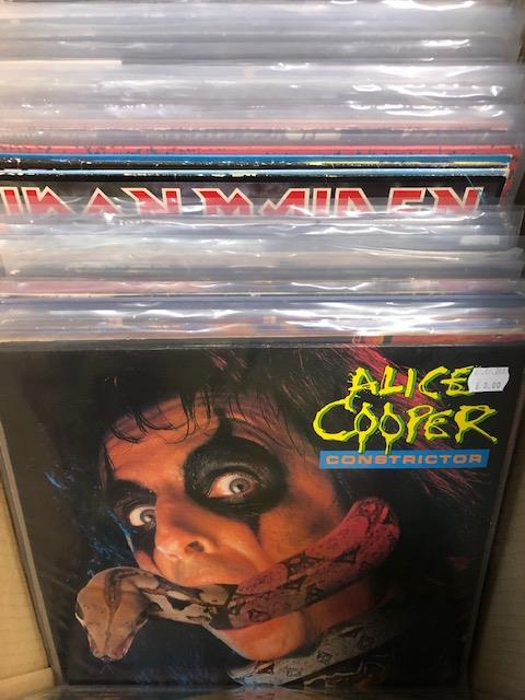 Vinyl - Approx 65 Rock & Metal LP's featuring KISS, Queen, Black Widow, Iron Maiden, AC/DC and more - Image 7 of 27