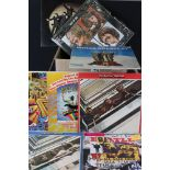 Vinyl - The Beatles & Related approx 25 LP's including With The Beatles, Sgt Pepper, Abbey Road, Let