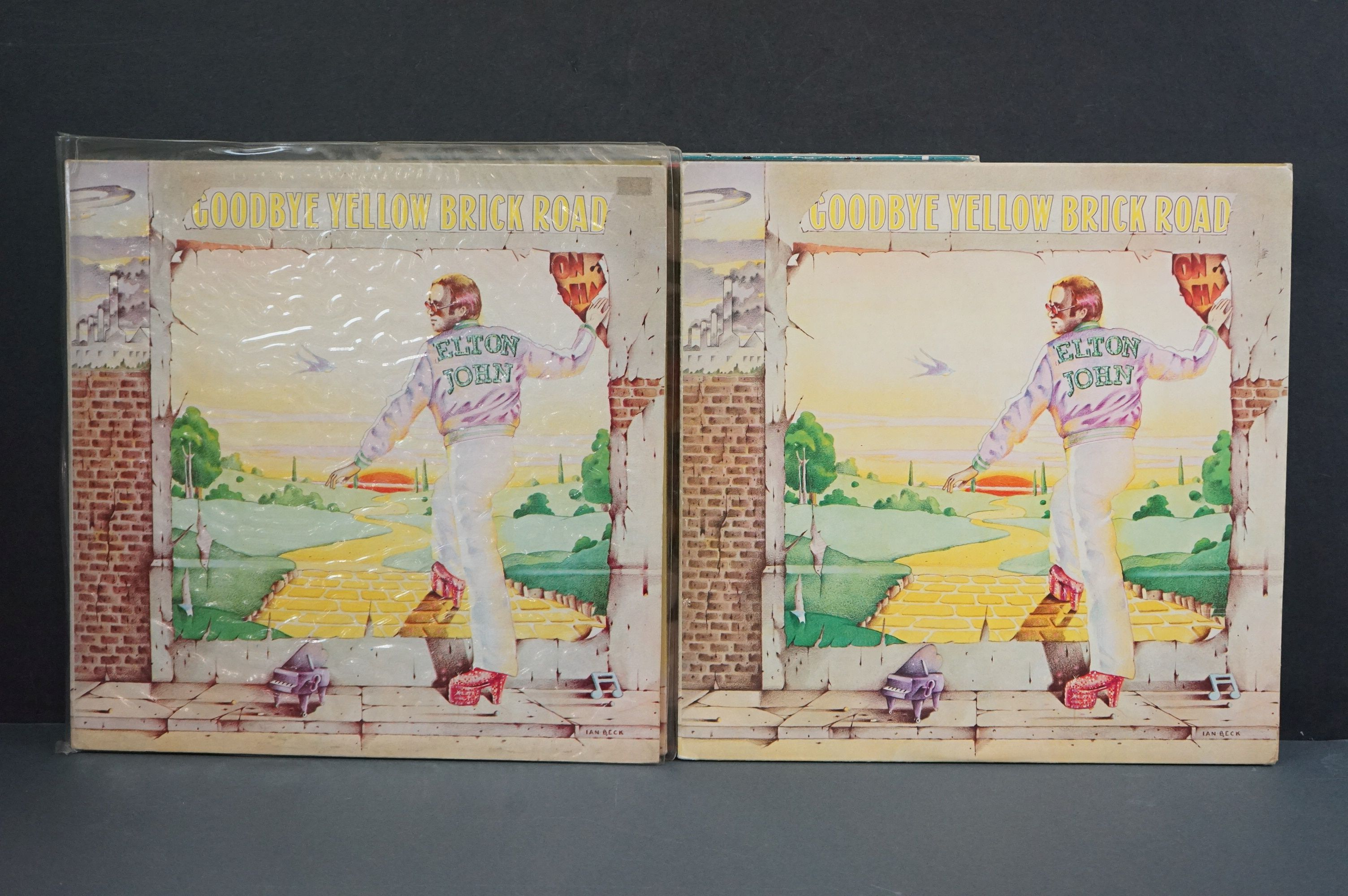 Vinyl - 16 Elton John LPs to include A Single Man, Blue Moves, Greatest Hits, Goodbye Yellow Brick - Image 10 of 16