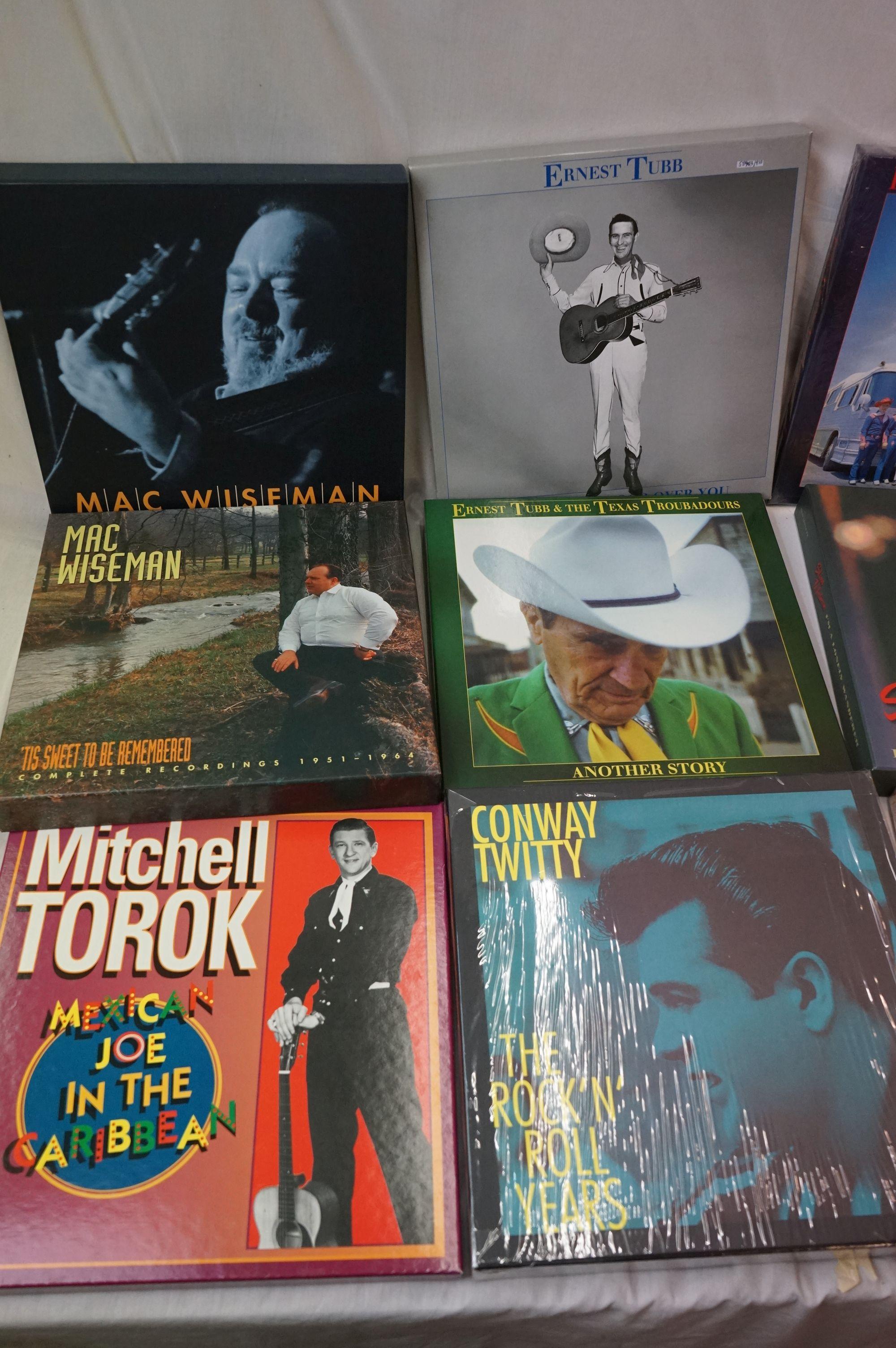 Vinyl - Around 130 LPs and 14 Box Sets to include Charlie Wiseman, Mac Wiseman, Slim Whitman etc ( - Image 5 of 5