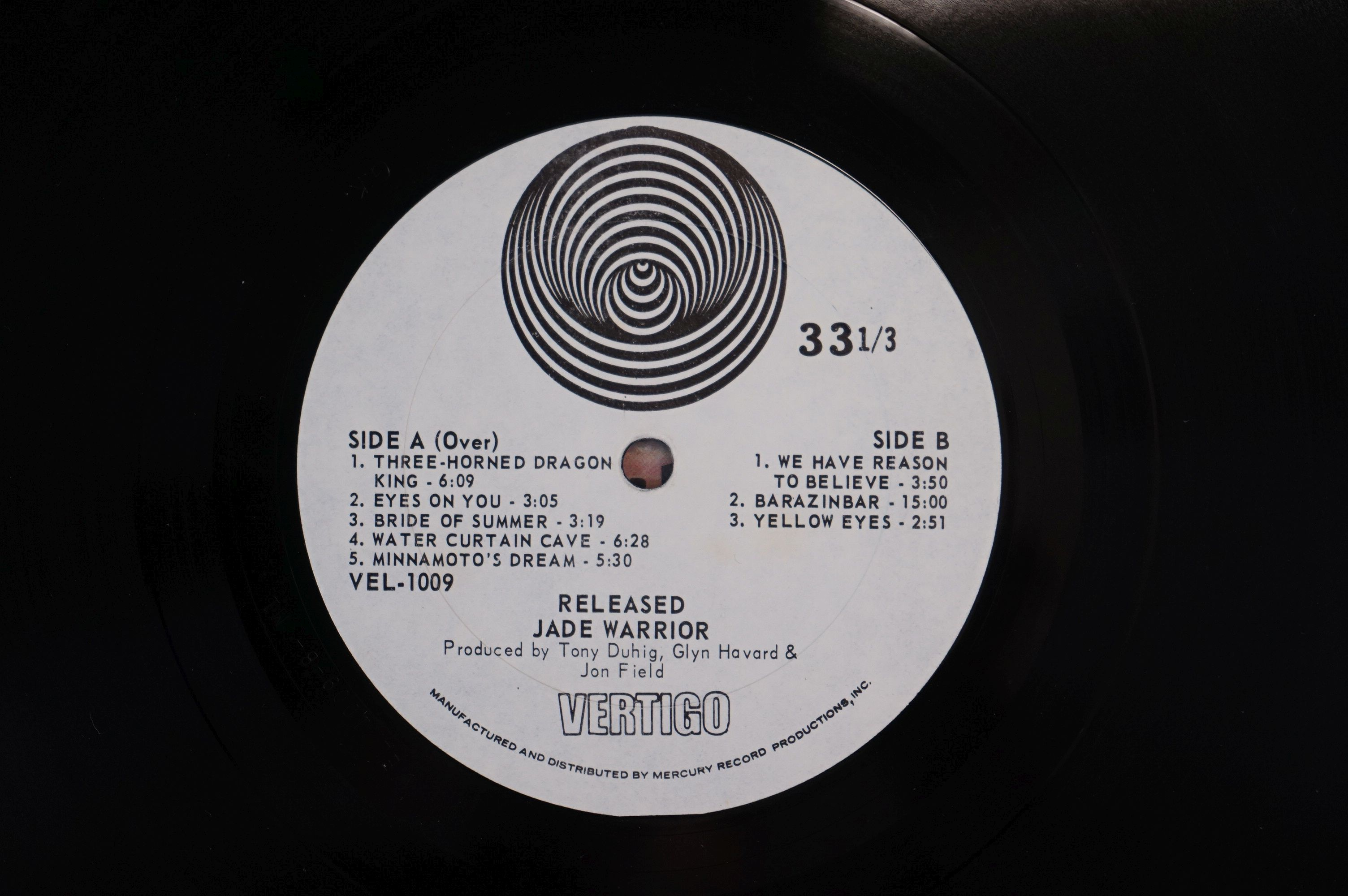 Vinyl - Four Jade Warrior LPs to include Last Autumn Dream LP on Vertigo Deluxe 6360079 gatefold - Image 6 of 9