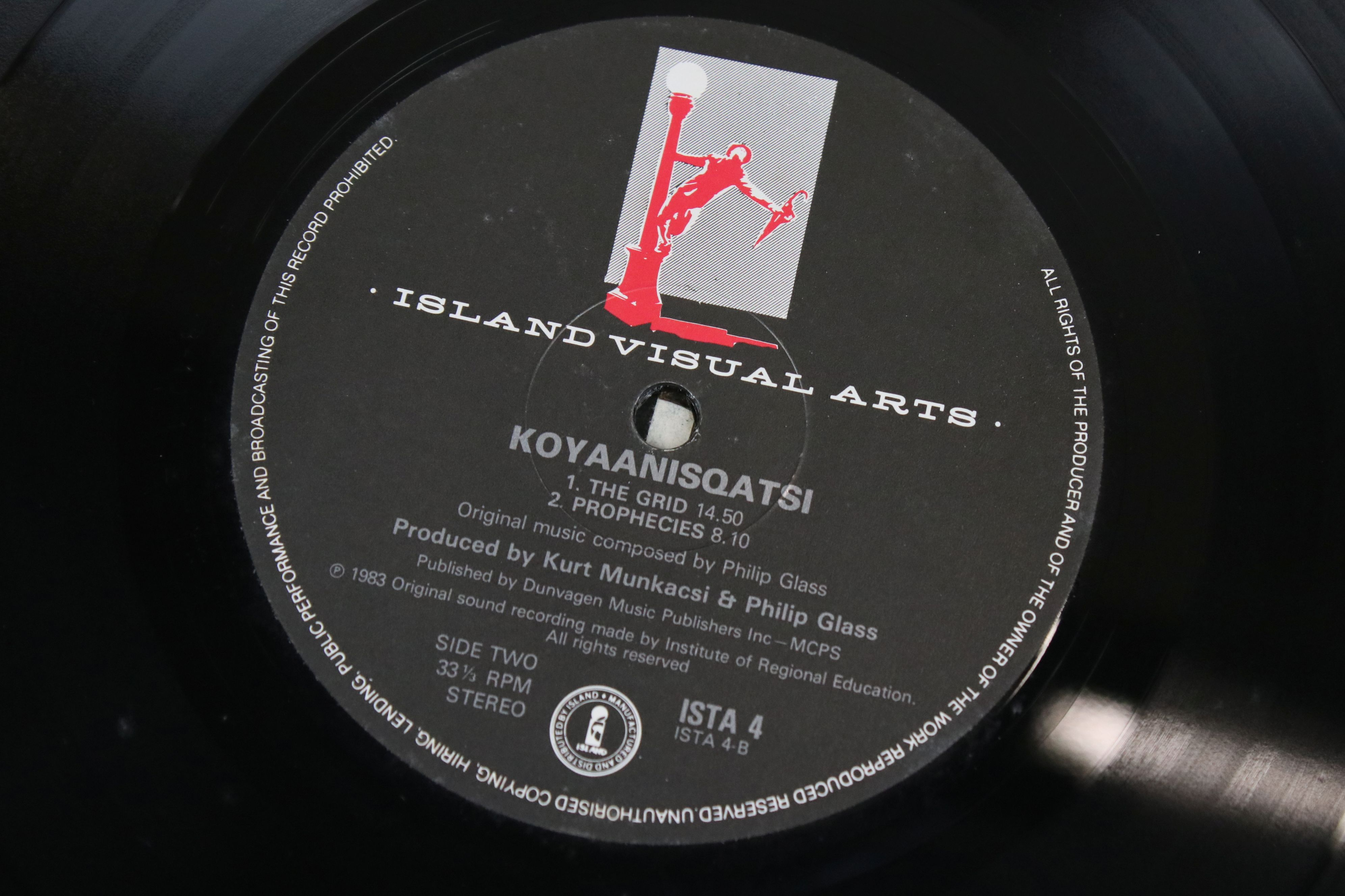 Vinyl - Four Electronic Classical LPs to include Terry Riley In C, Philip Glass Koyaanisqqatsi, - Image 6 of 6