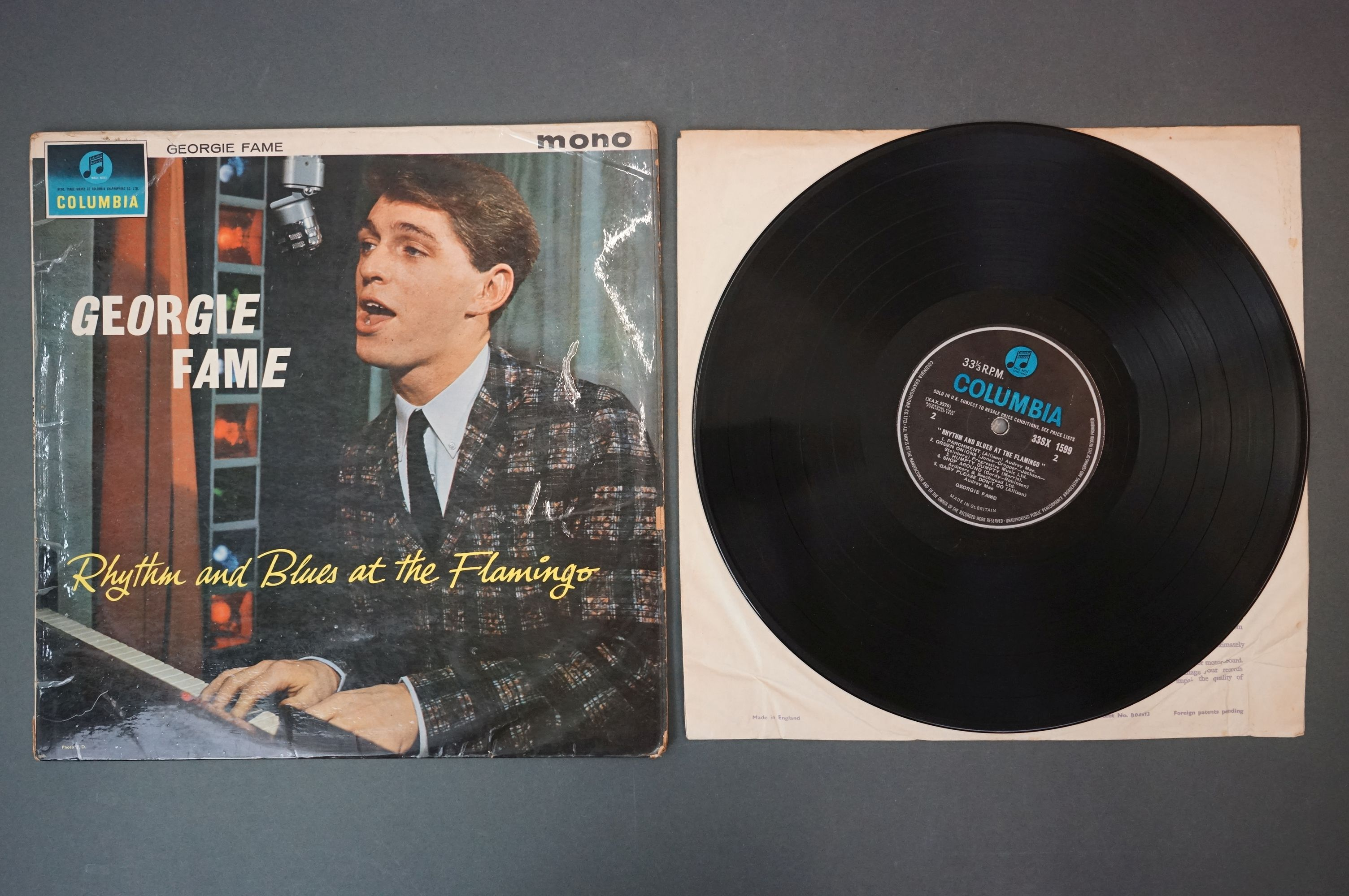 Vinyl - Georgie Fame Rhythm And Blues At The Flamingo (Columbia 33 SX 1599). Sleeve & Vinyl VG- - Image 2 of 4