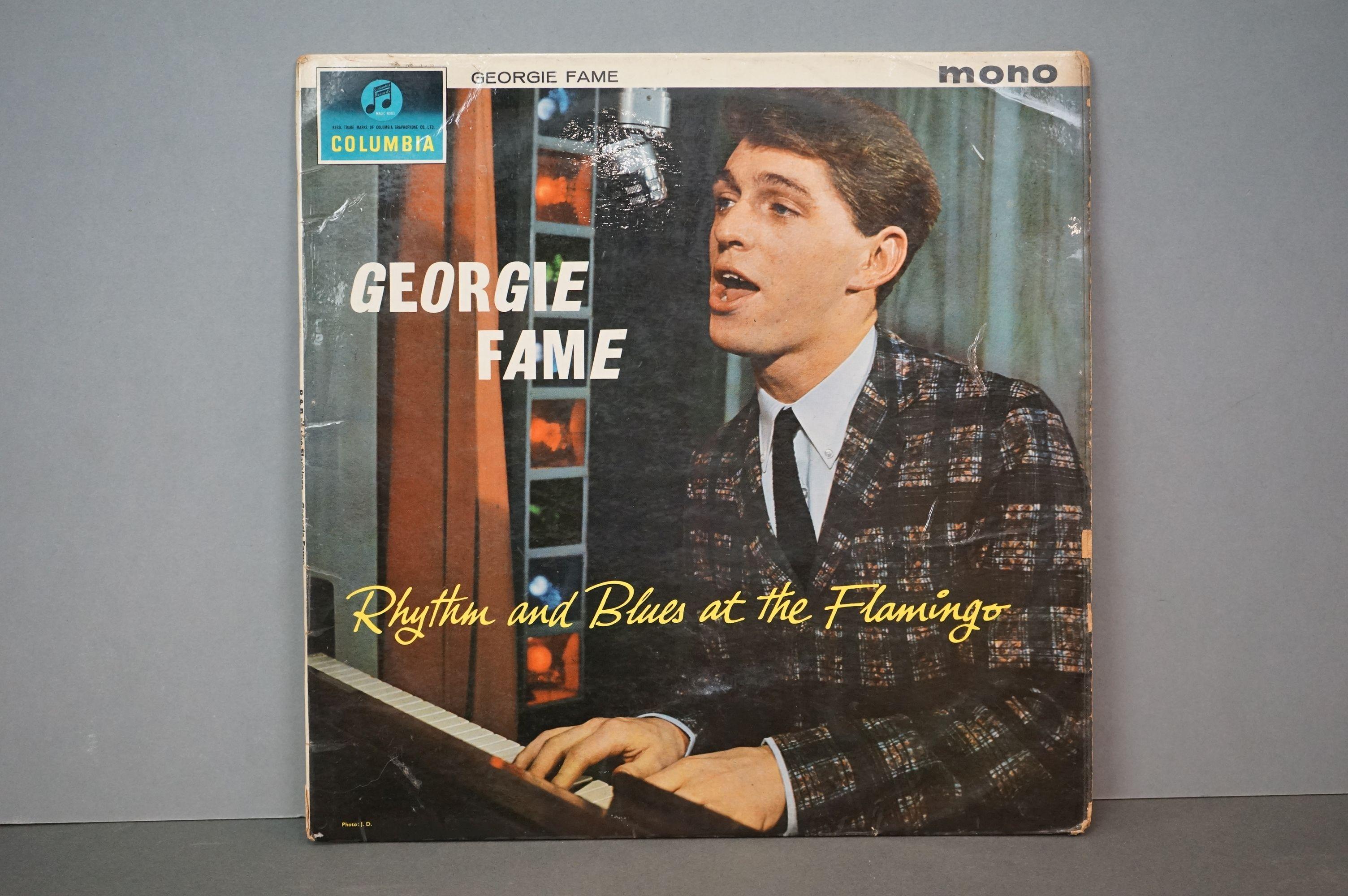 Vinyl - Georgie Fame Rhythm And Blues At The Flamingo (Columbia 33 SX 1599). Sleeve & Vinyl VG-
