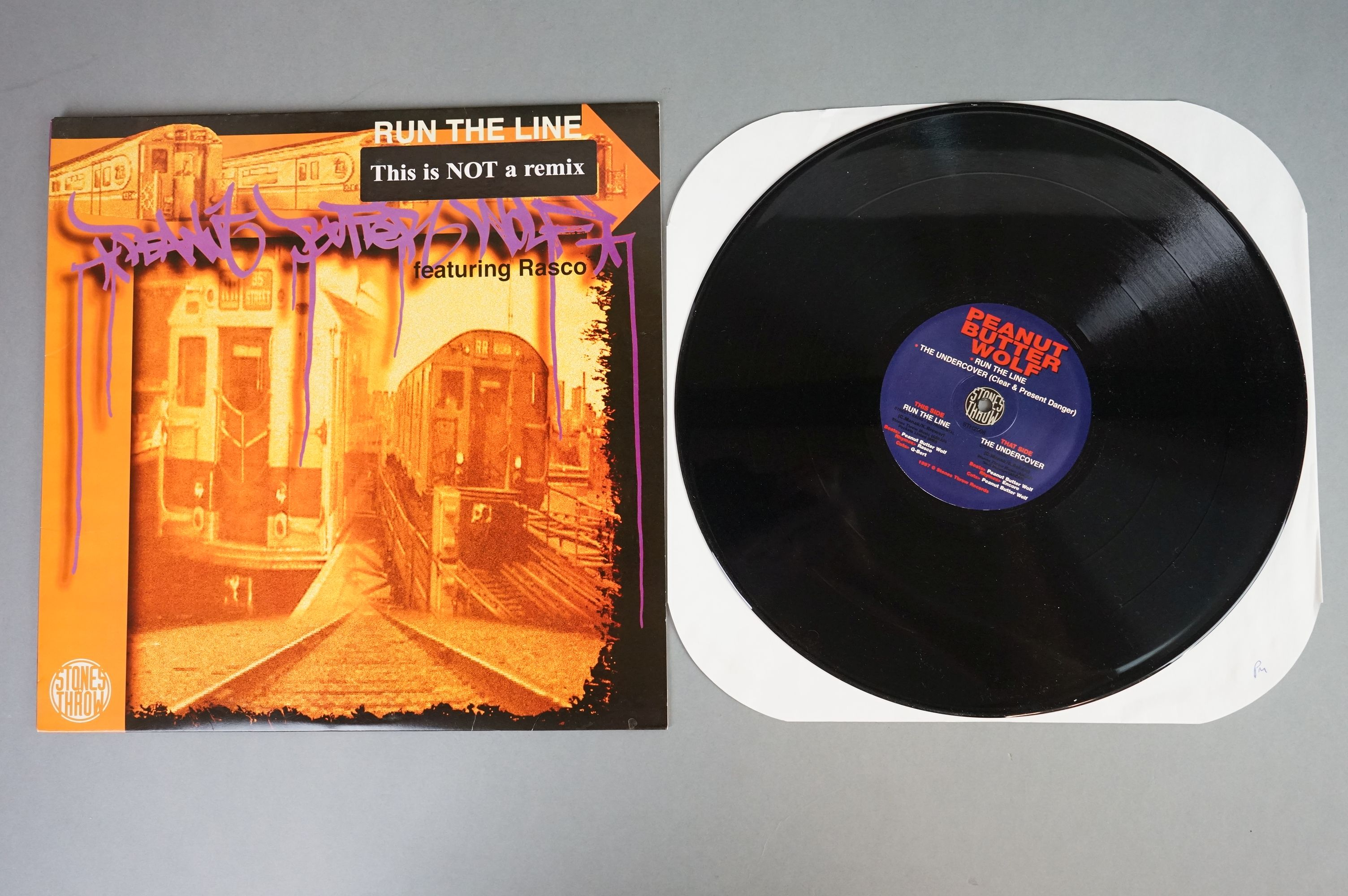 """Vinyl - Slurped Too! 2LP Compilation and 3 x Peanut Butter Wolf 12"""" singles to include Run The - Image 4 of 11"""