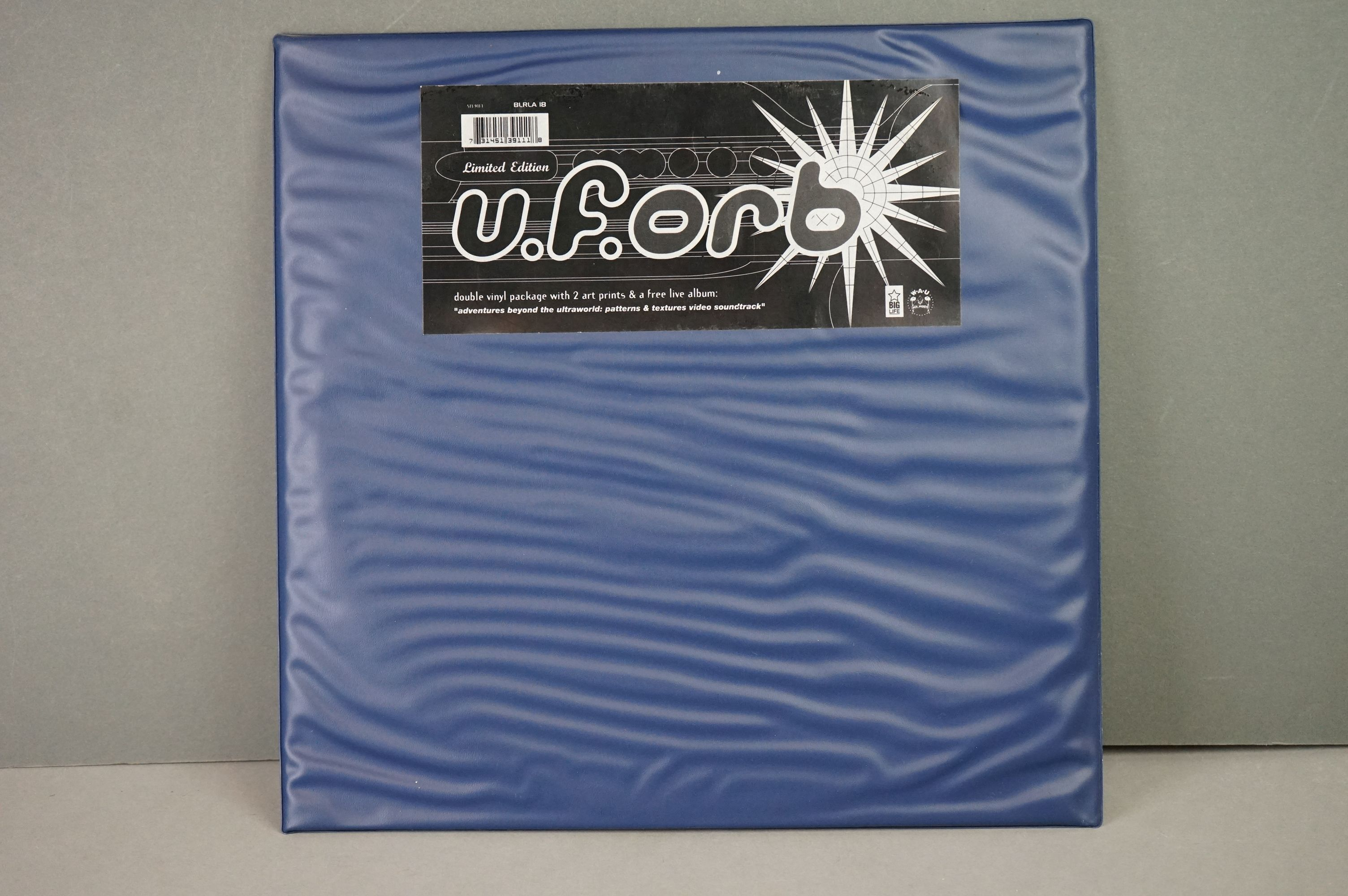 Vinyl - Orb UFORB on Big Life BLBLA18 Double vinyl package with 2 x art prints and free live