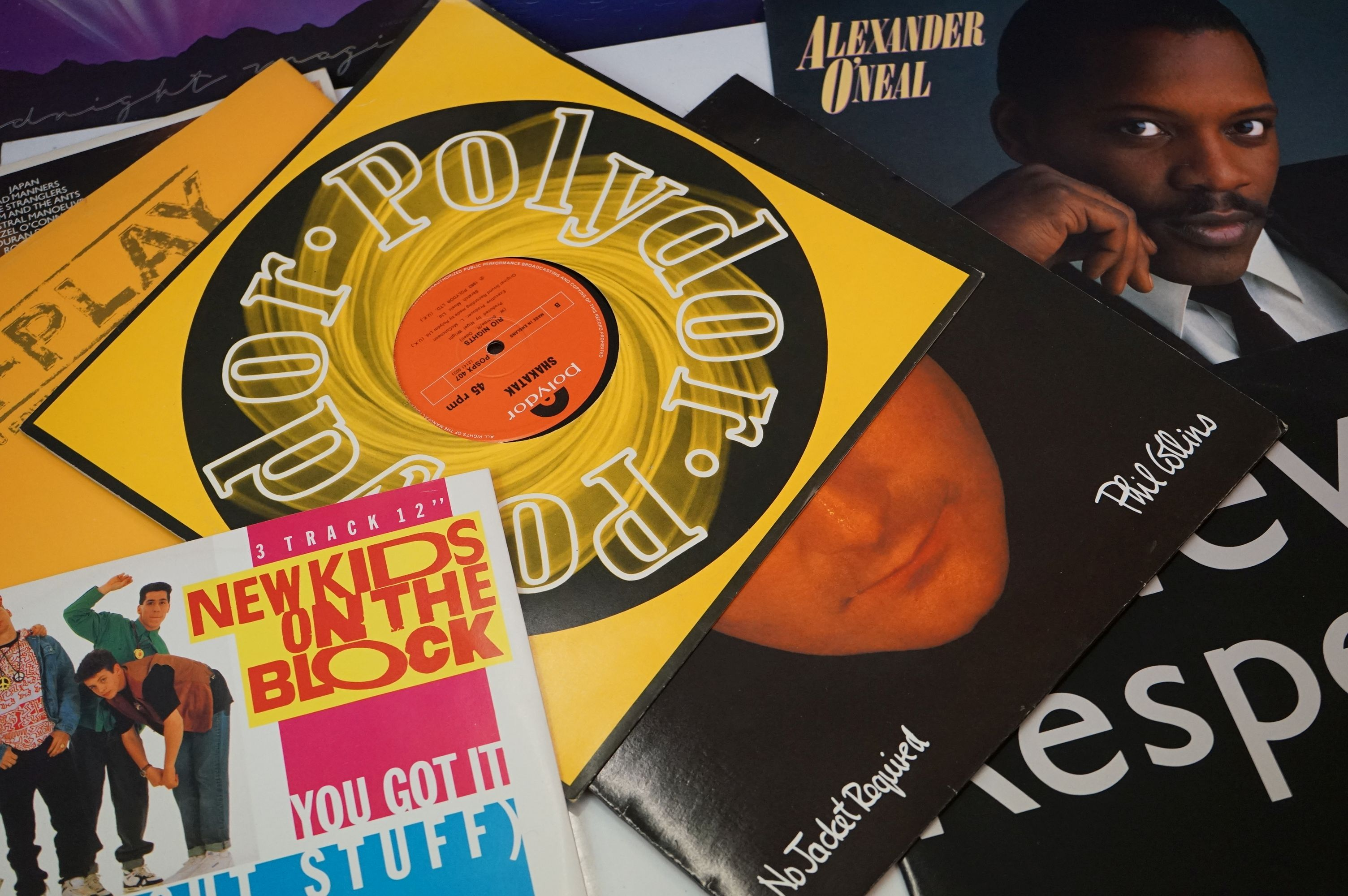 """Vinyl - Approx 150 vinyl LP's and 12"""" Singles mainly rock and pop to include Rick Wakeman, Yes, - Image 2 of 4"""