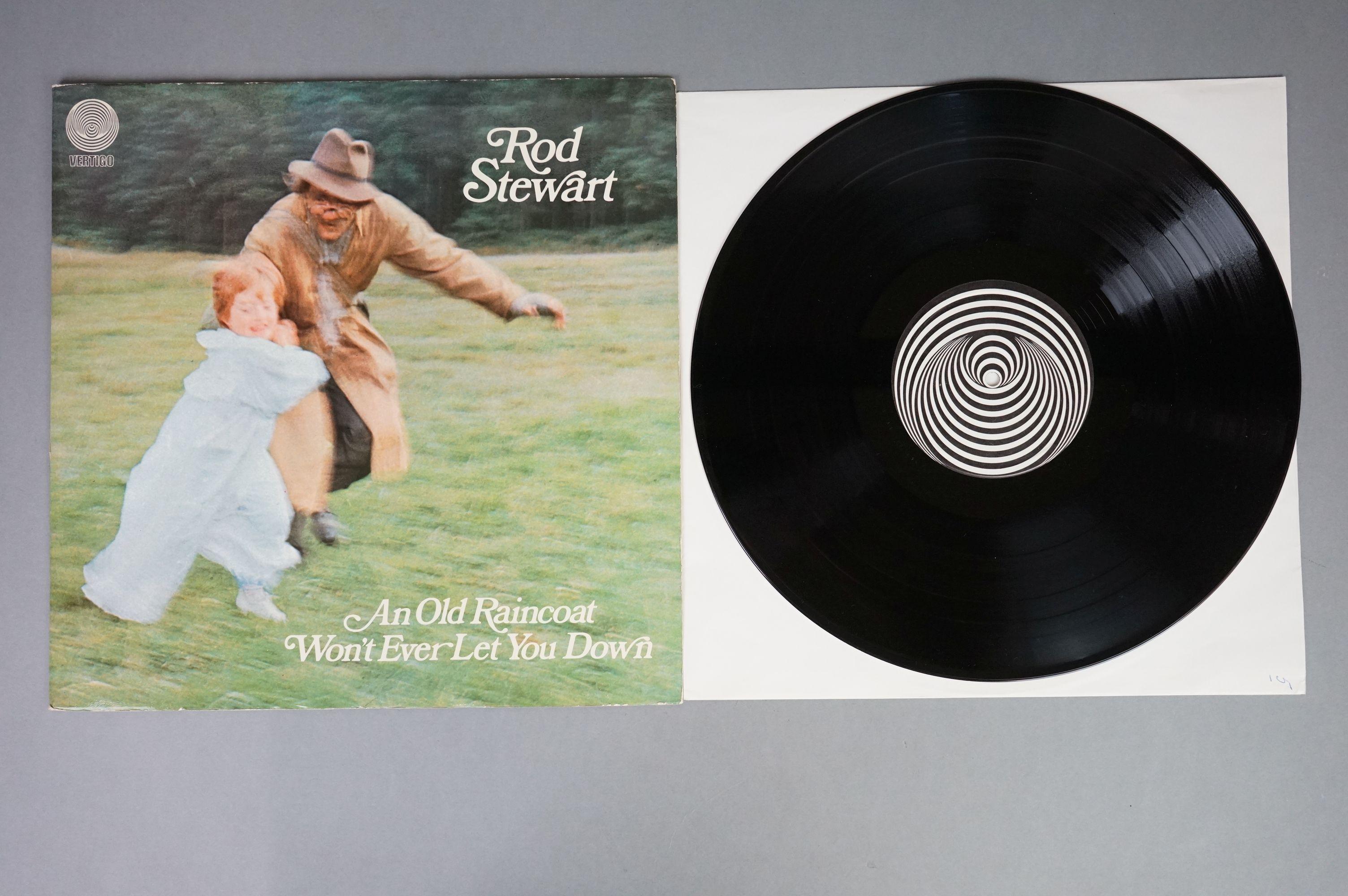 Vinyl - Rod Stewart 4 LP's to include An Old Raincoat Won't Ever Let You Down (Vertigo VO4) gatefold - Image 12 of 14