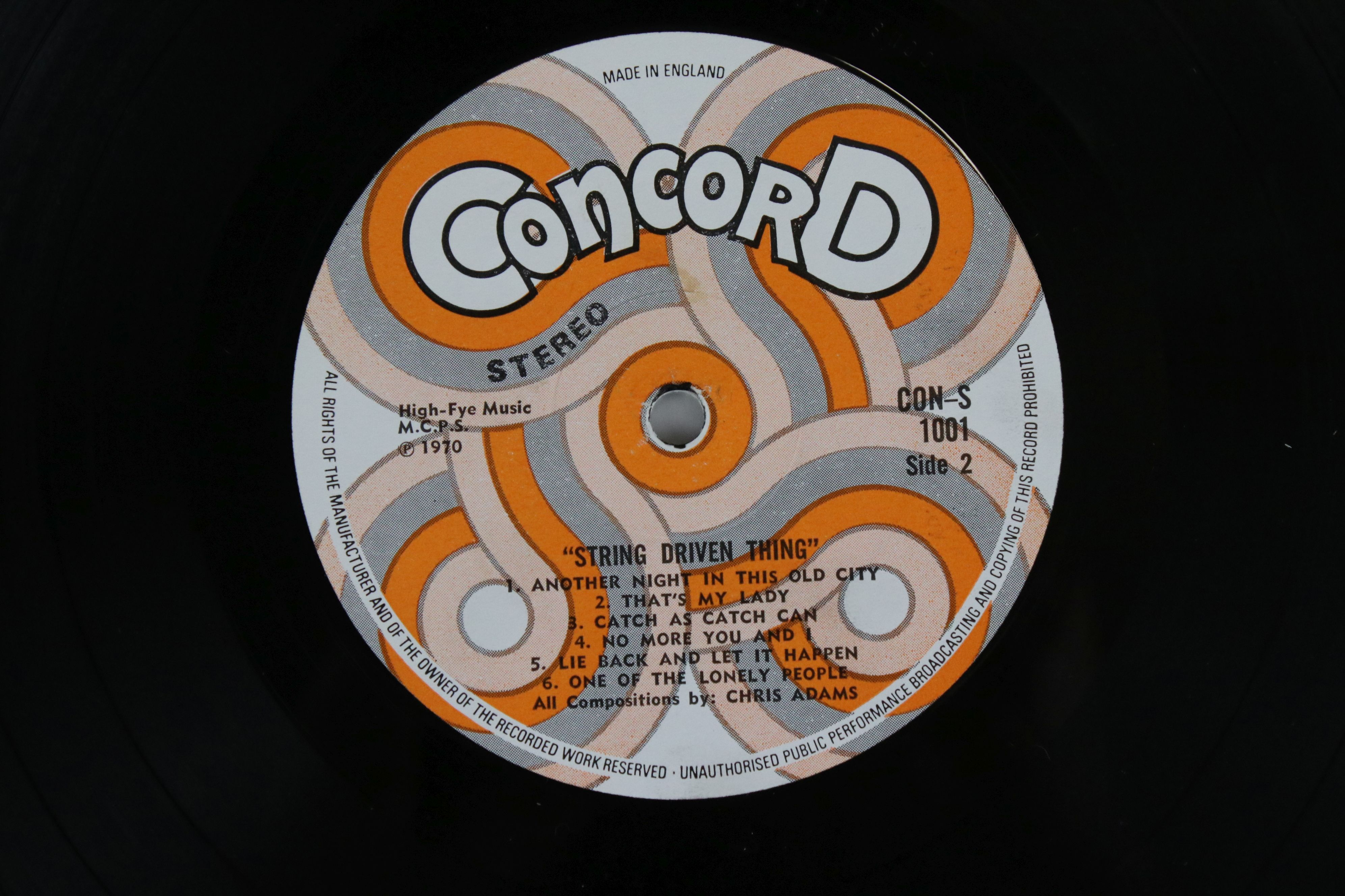 Vinyl - String Driven Thing self titled LP on Concord CON1001 Stereo, first album for the Concorde - Image 4 of 4