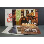 Vinyl - 10 Clanned LPs to include Macalla, Magical Ring x 2, Sirius, Clanned, Clanned 2 etc, sleeves