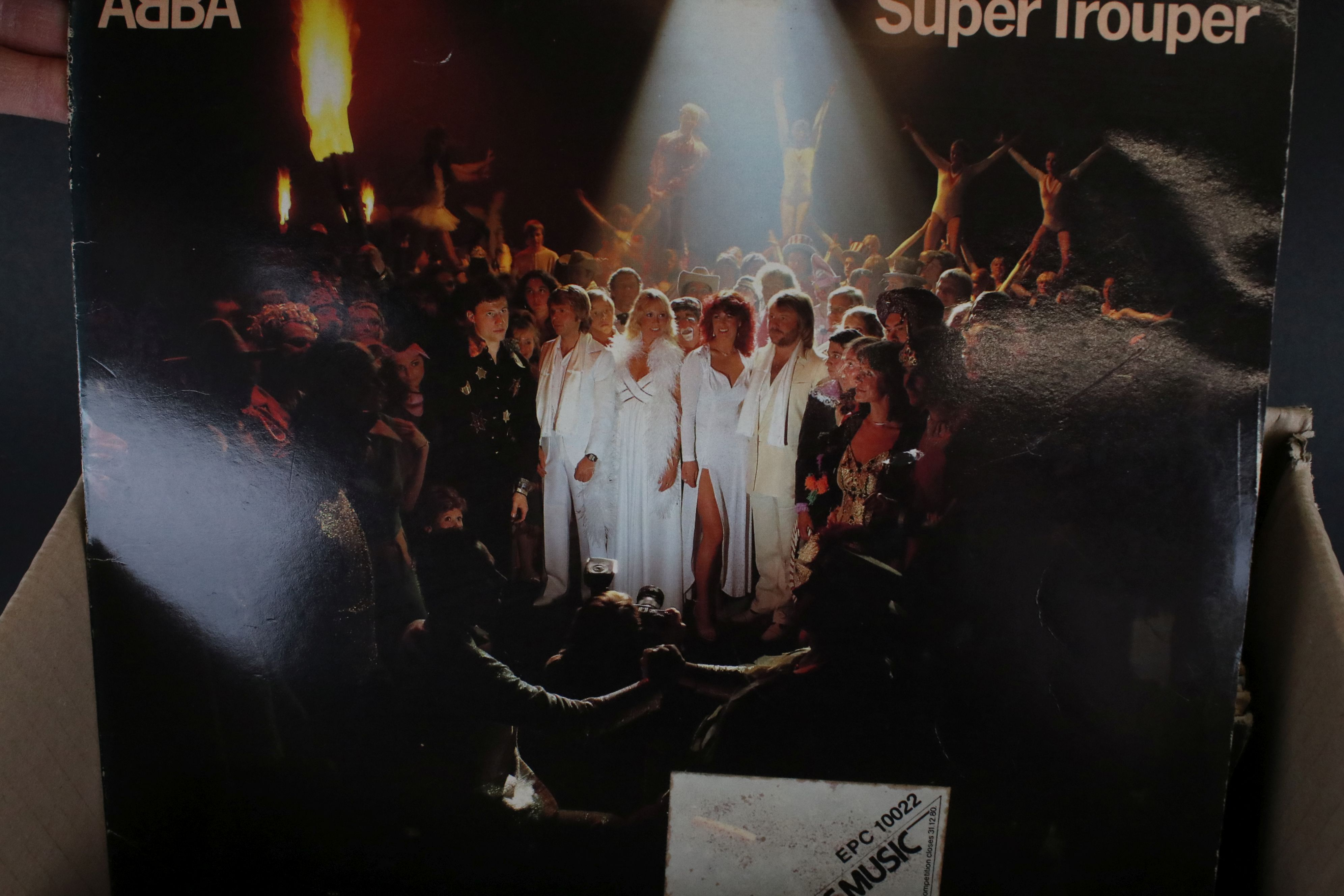 Vinyl - Approx 50 vinyl LP's spanning the decades and the genres to include Iron Maiden, ELO, - Image 7 of 10