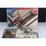 Vinyl - The Beatles 4 LP's to include 1962-66 (red vinyl) and 1967-70 (blue vinyl) both with