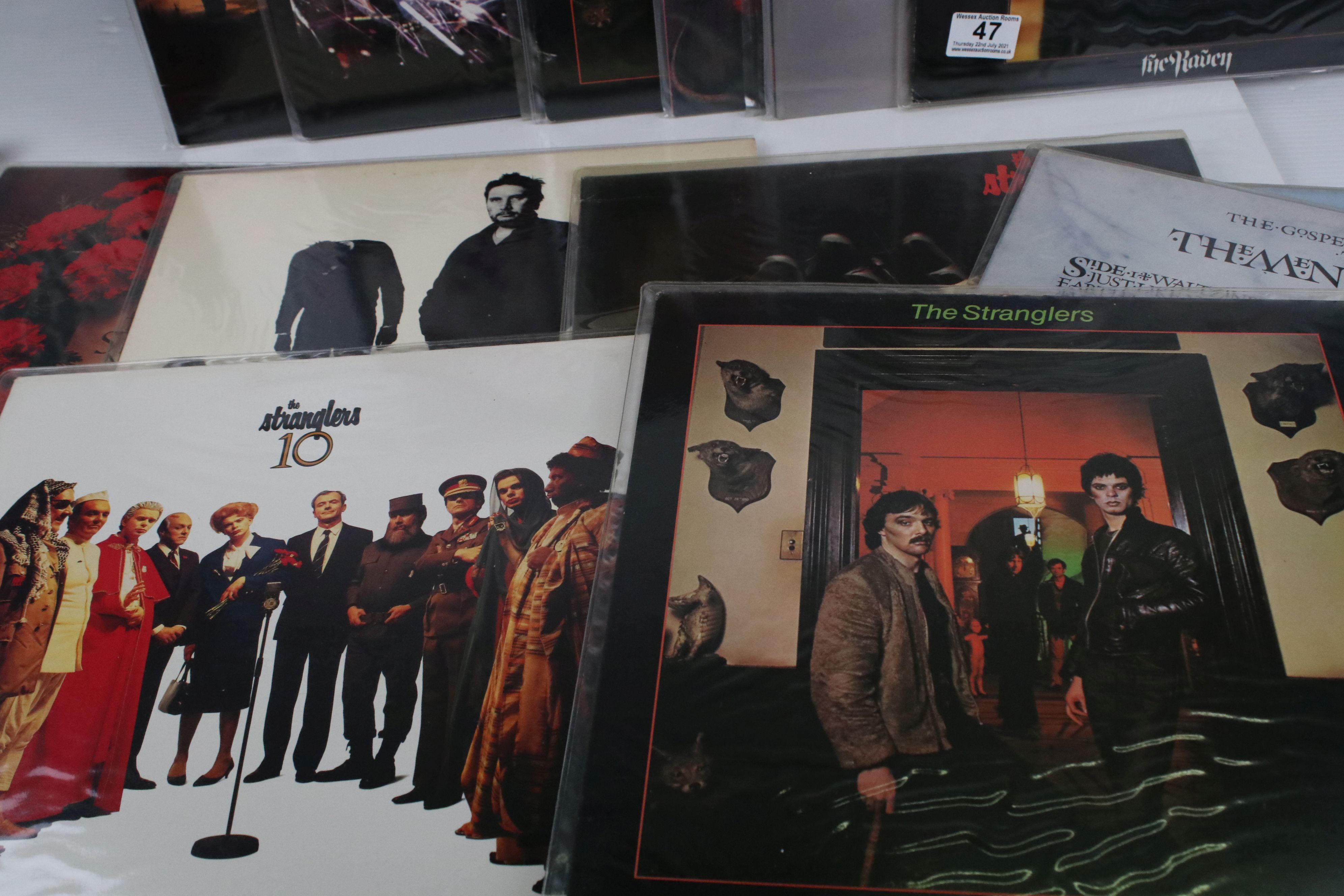 Vinyl - Punk collection of 17 Stranglers LP's including rare Australian 3D cover of The Raven (VG+/ - Image 2 of 5