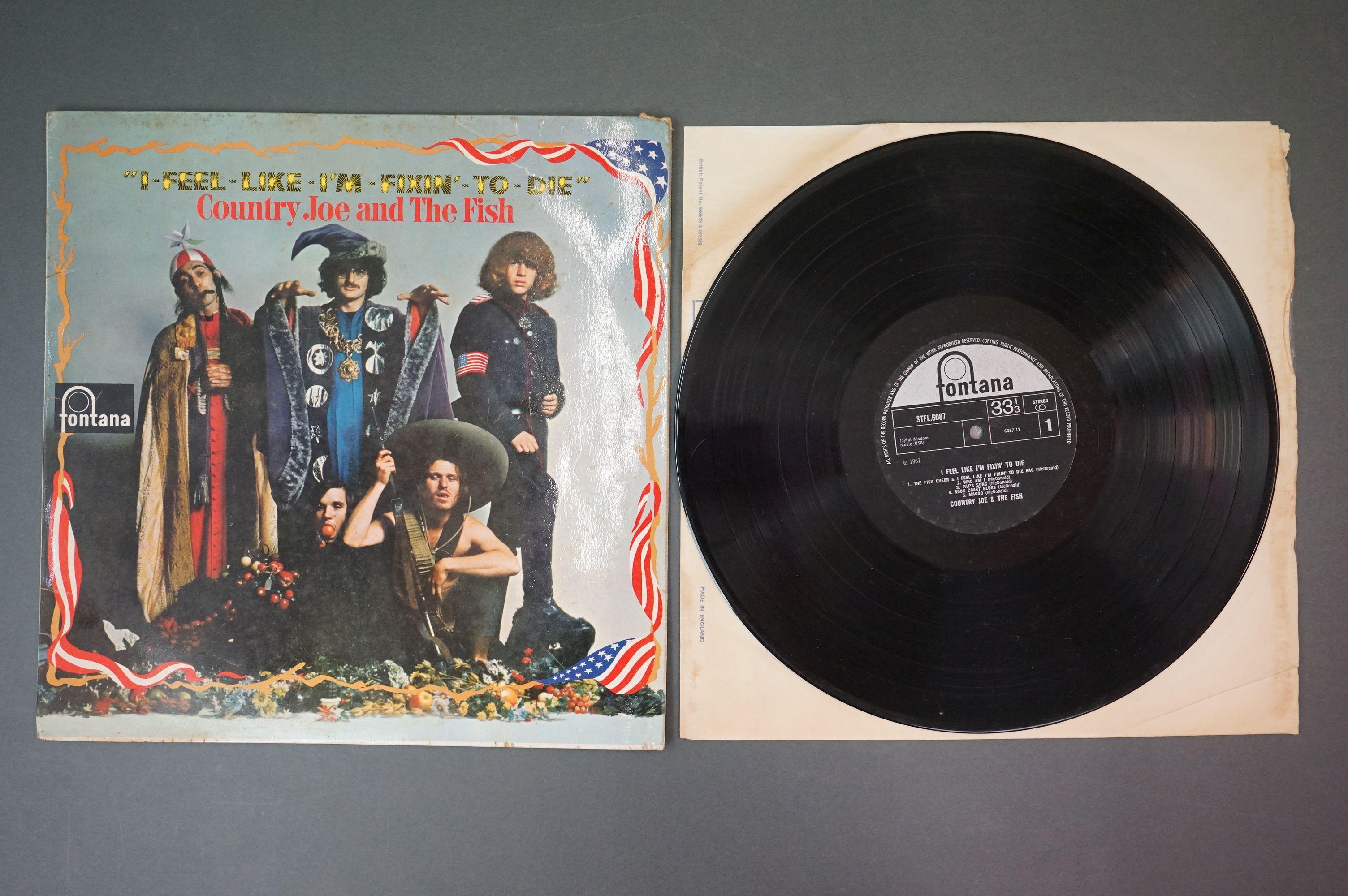 Vinyl - Country Joe and The Fish, I Feel Like I'm Fixin' To Die, Fontana STFL 6087, flip back - Image 2 of 4
