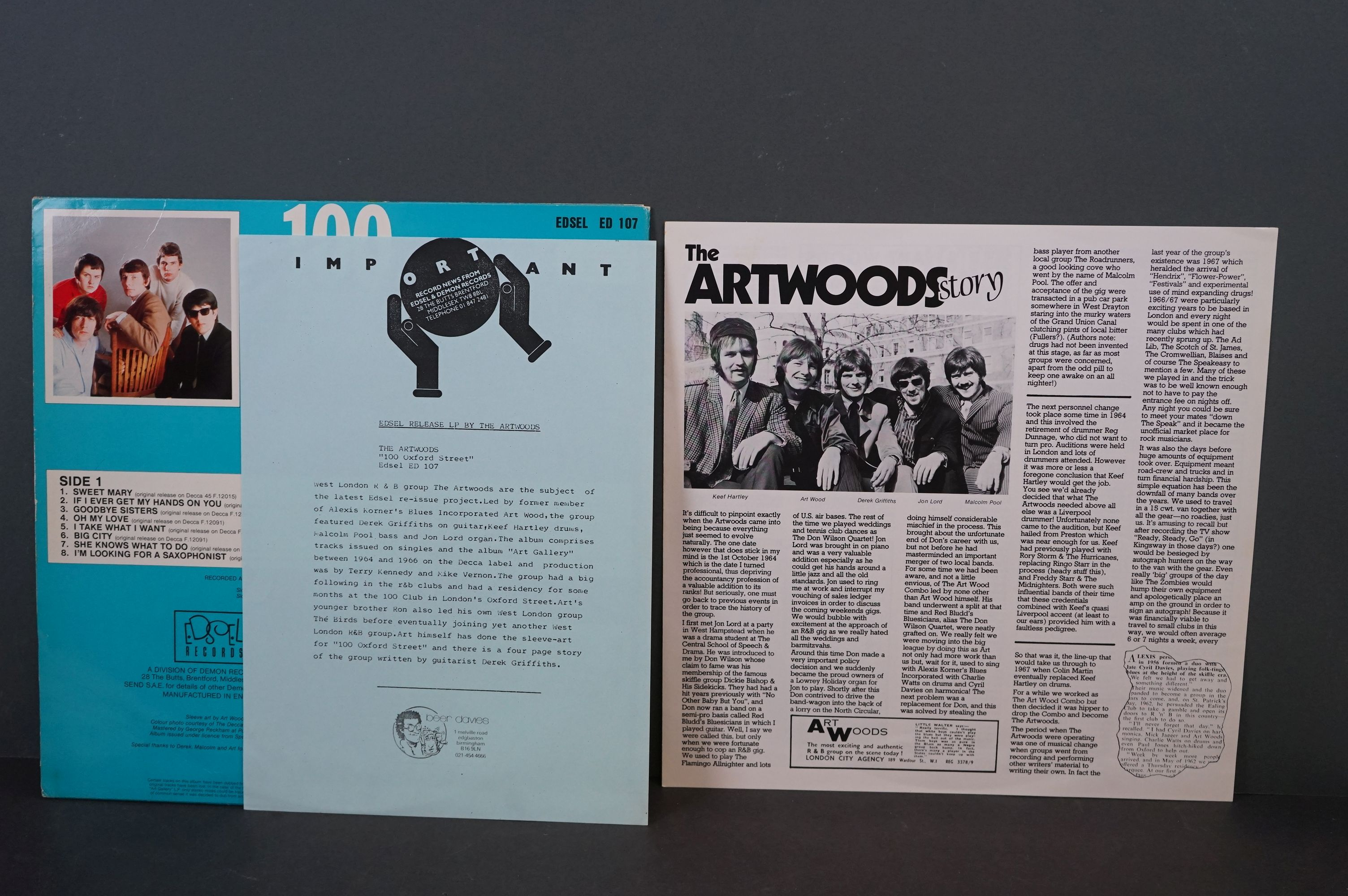Vinyl - Psych / Prog - Five long deleted reissues of UK Psych / Prog Albums. Open Mind - Open - Image 10 of 12