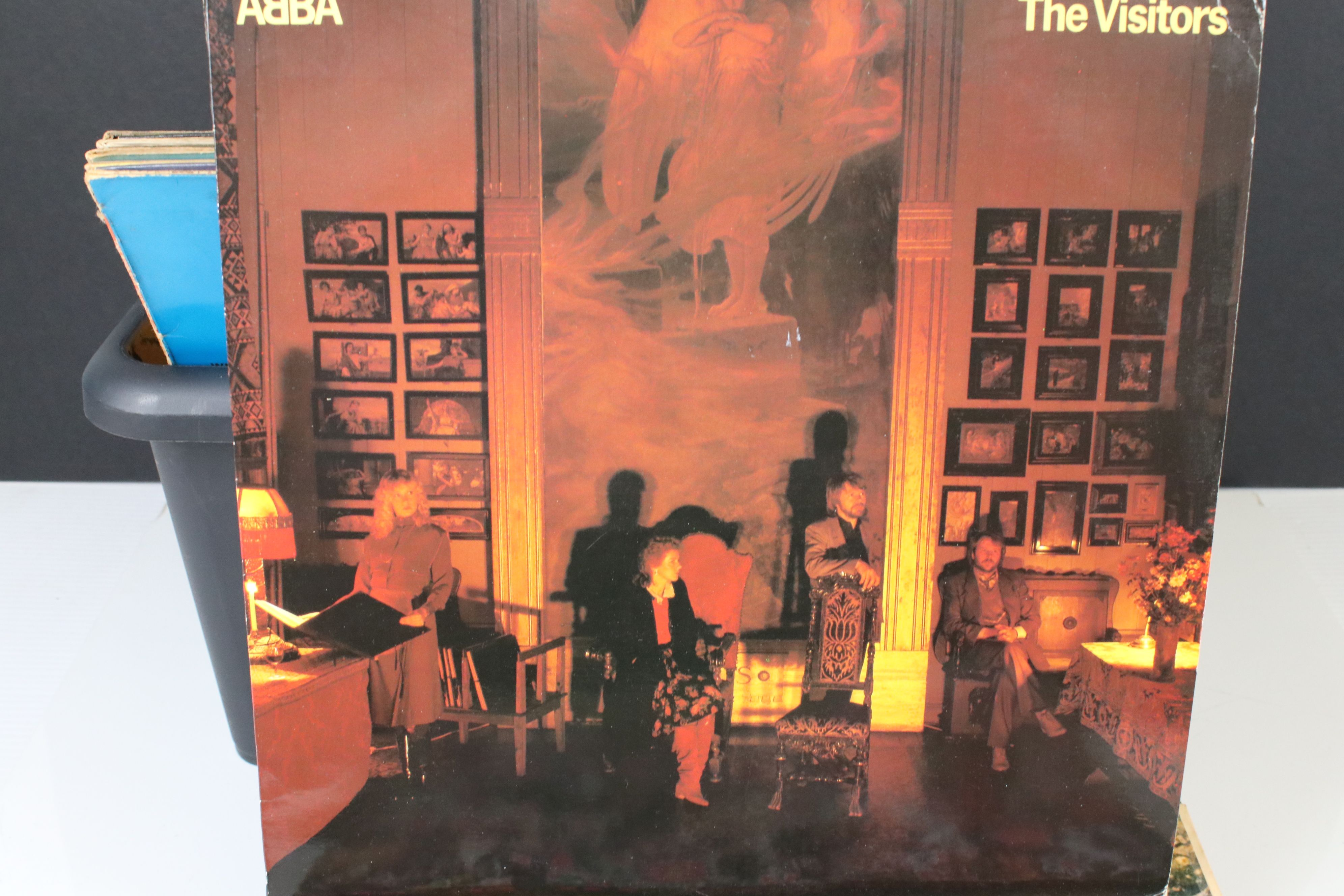 Vinyl - Collection of over 30 LP's mainly rock including Pink Floyd A Saucerful Of Secrets (SCX - Image 10 of 11