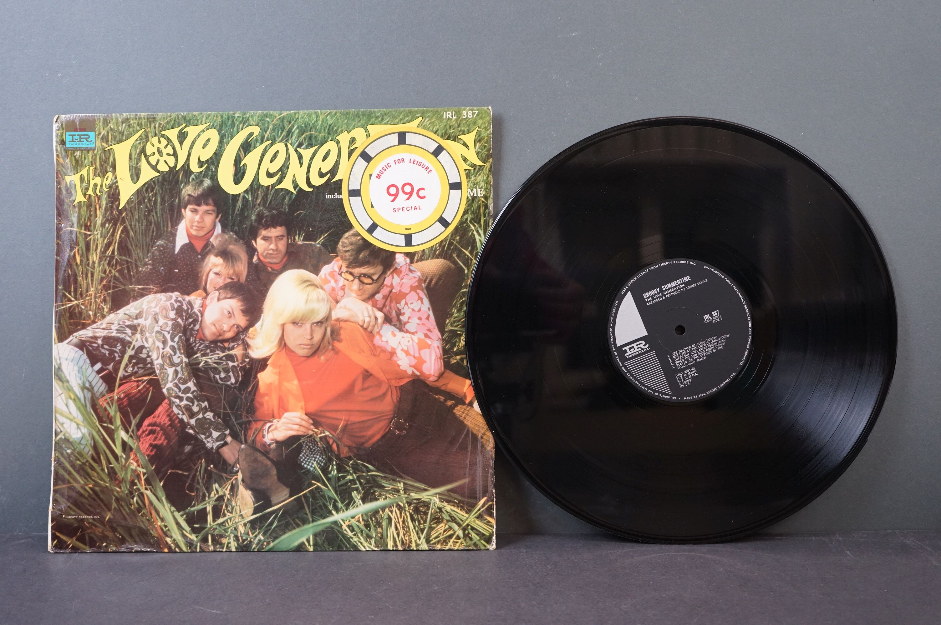Vinyl - Psych / Rock / Garage - Four scarce African Pressing original albums to include Nazz - - Image 4 of 9