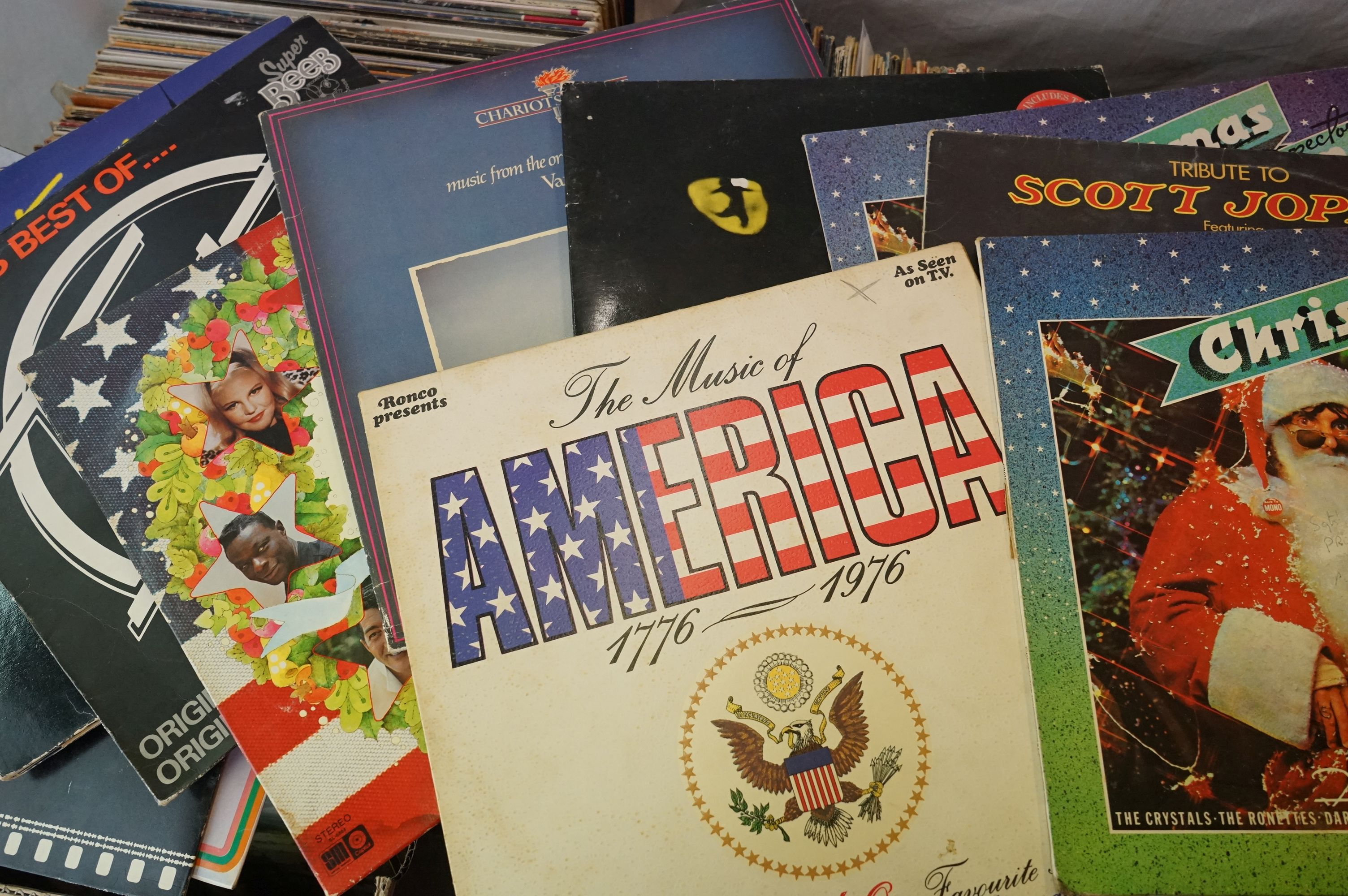 Vinyl - Large collection of LPs spanning the genres and decades (four boxes) - Image 3 of 8