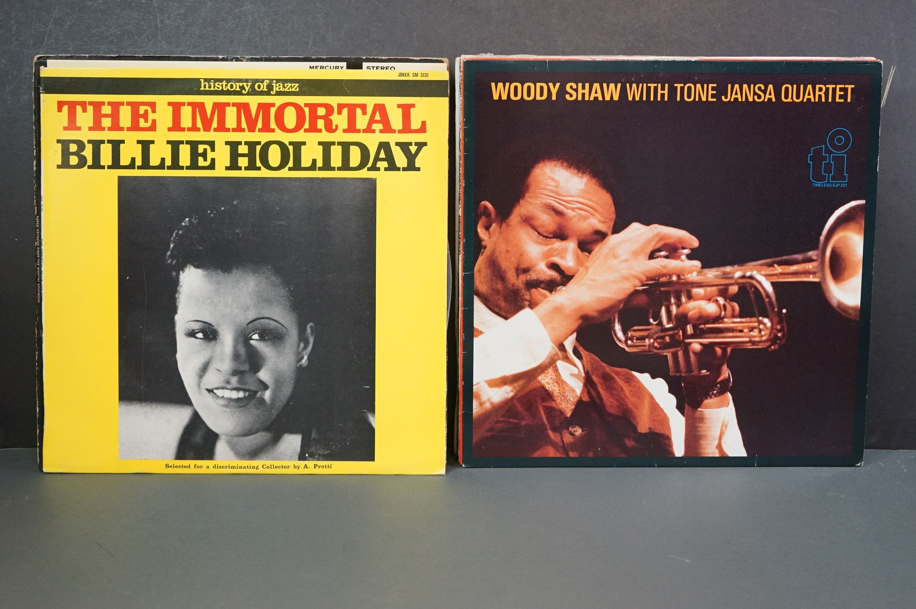 Vinyl - Around 30 Jazz LPs to include Woody Shaw, Ken Collyer, Billie Holiday, Milt Jackson, - Image 14 of 18