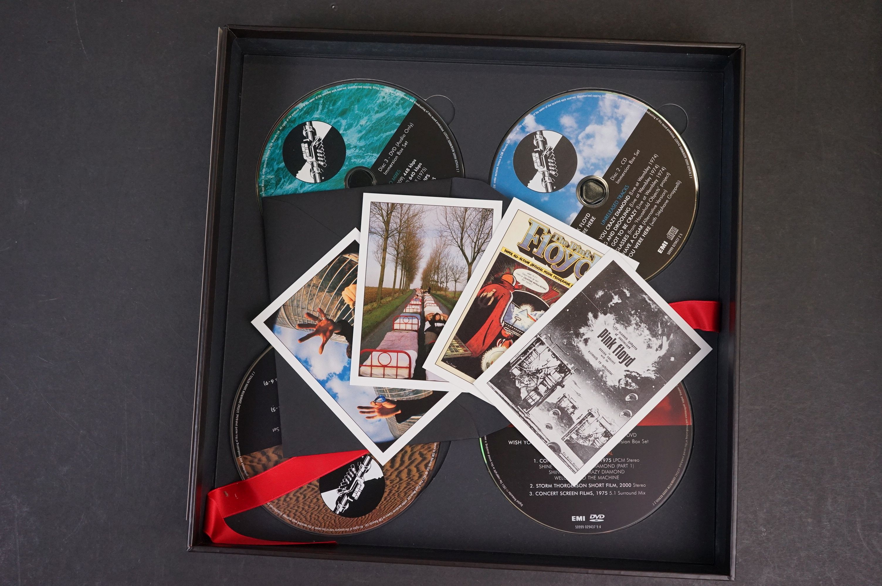 CD / DVD / Bluray - Pink Floyd Wish You Were Here 5 disc box set ex - Image 10 of 13