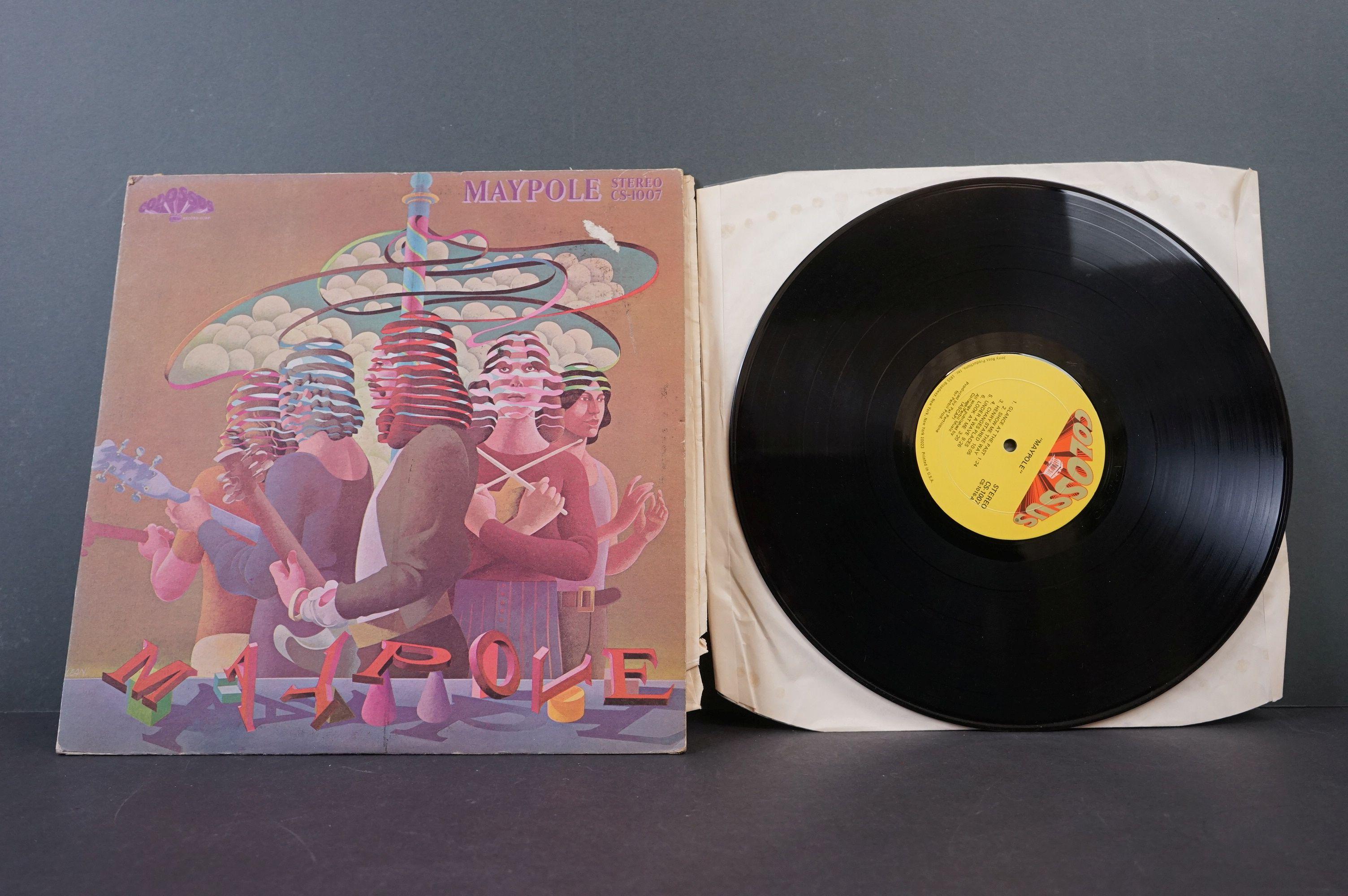 Vinyl - Psych - Three original Rare US pressing Psych albums. Maypole - Maypole (1971 US, Colossus - Image 2 of 8