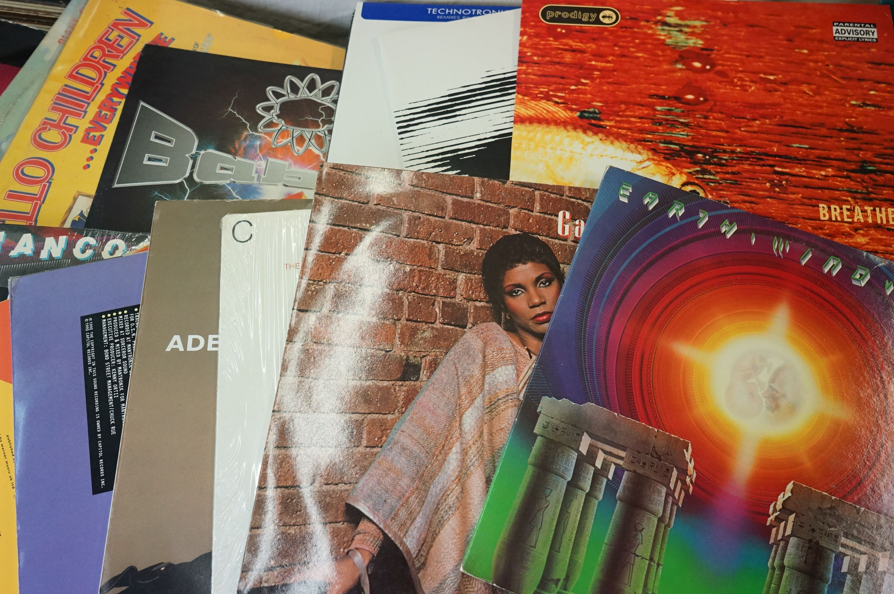 Vinyl - Large collection of LPs spanning the genres and decades (four boxes) - Image 4 of 8