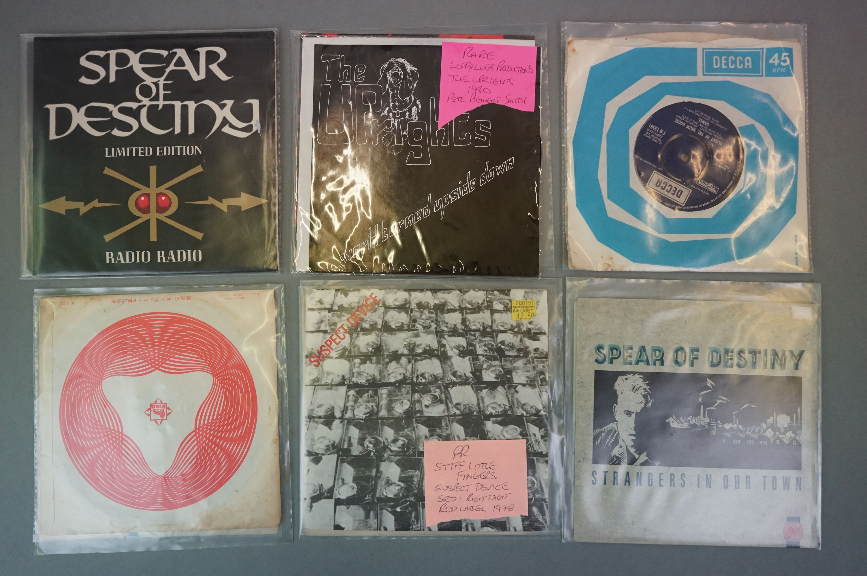 """Vinyl - Collection of approx 20 7"""" singles spanning genres and decades including 90's examples - Image 4 of 6"""