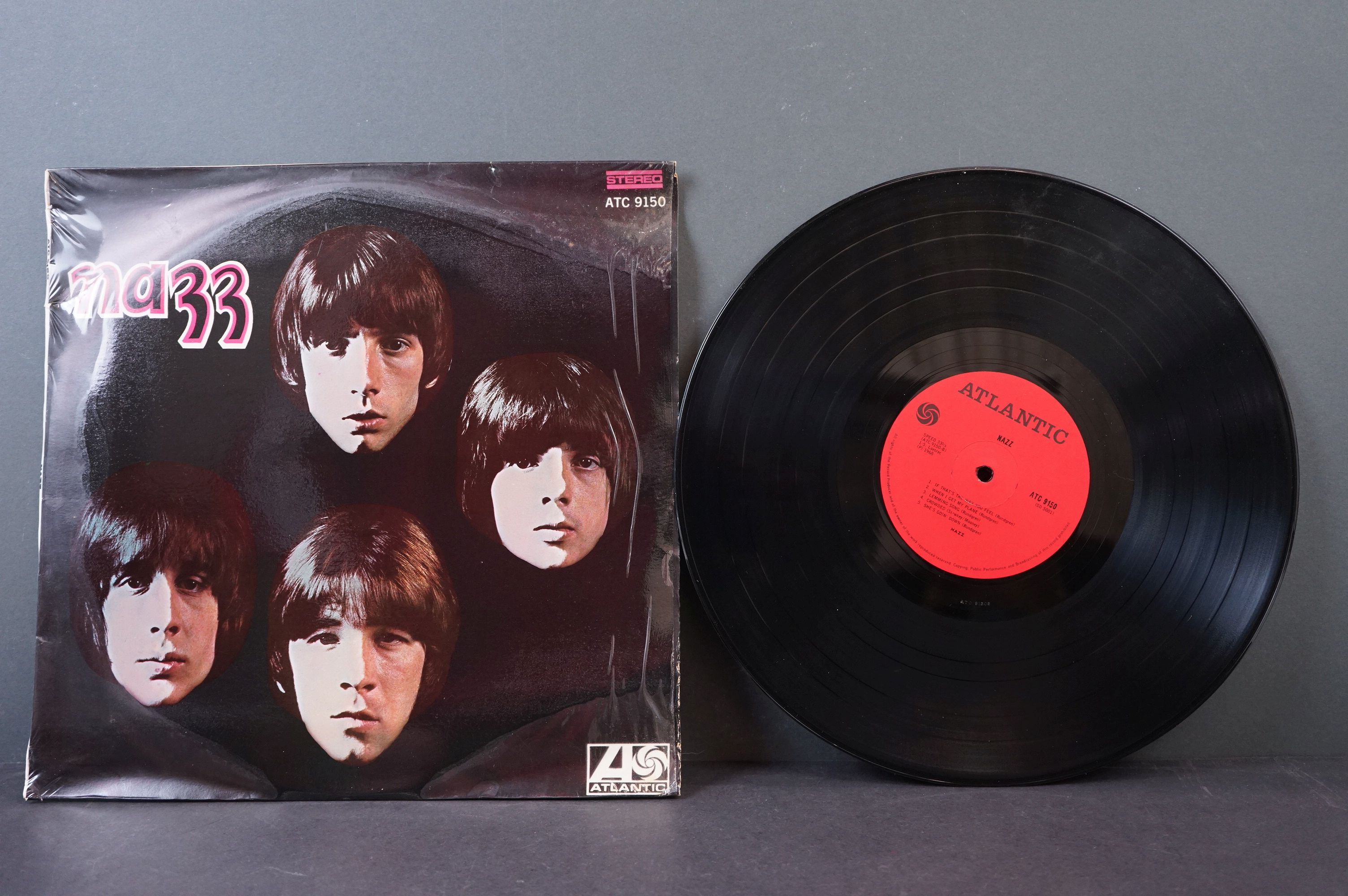 Vinyl - Psych / Rock / Garage - Four scarce African Pressing original albums to include Nazz - - Image 6 of 9