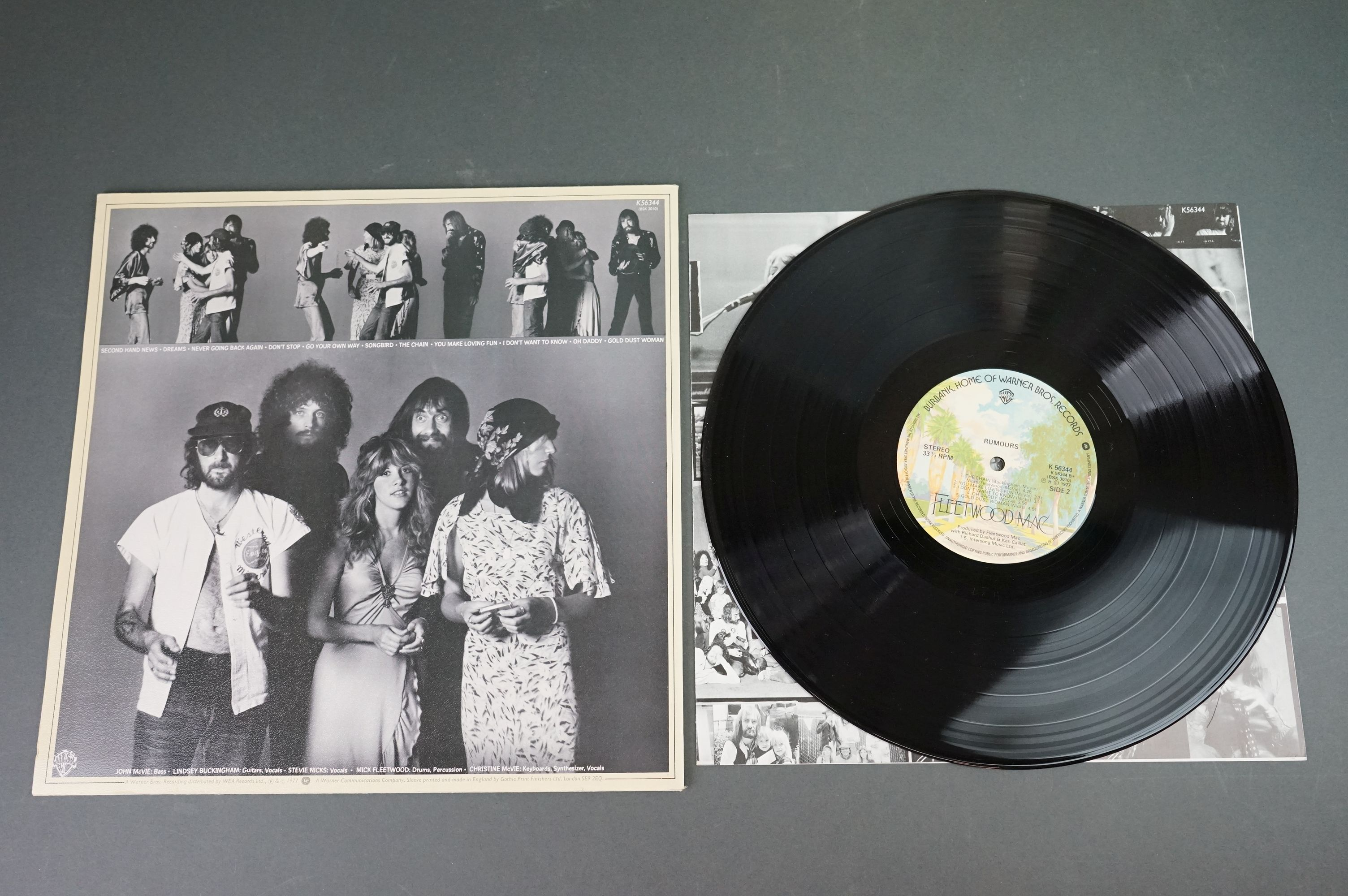 Vinyl - Two Fleetwood Mac LPs to include Tusk (K66088) and Rumours (K56344), sleeves and vinyl vg+ - Image 3 of 7