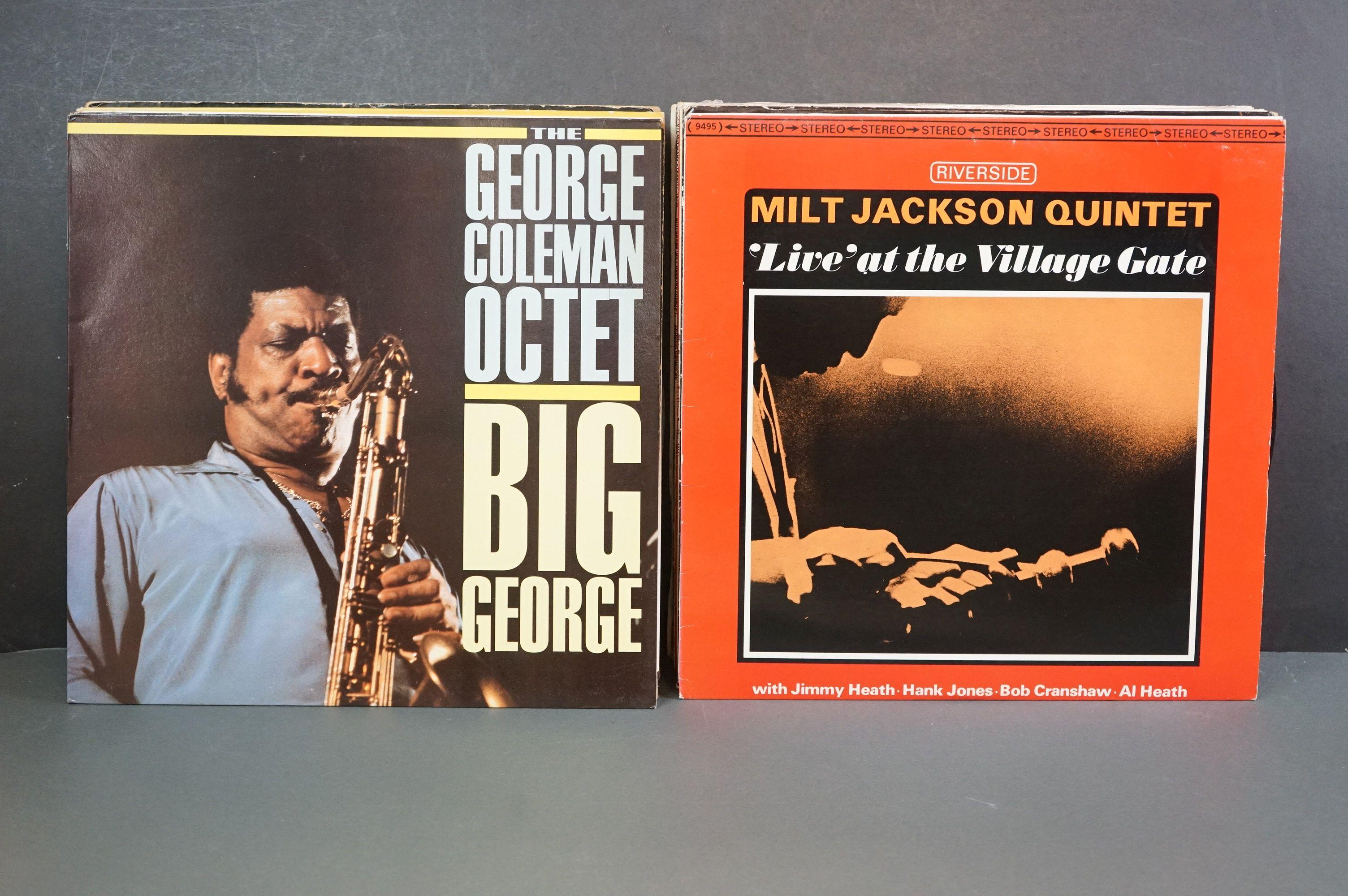 Vinyl - Around 30 Jazz LPs to include Woody Shaw, Ken Collyer, Billie Holiday, Milt Jackson, - Image 7 of 18