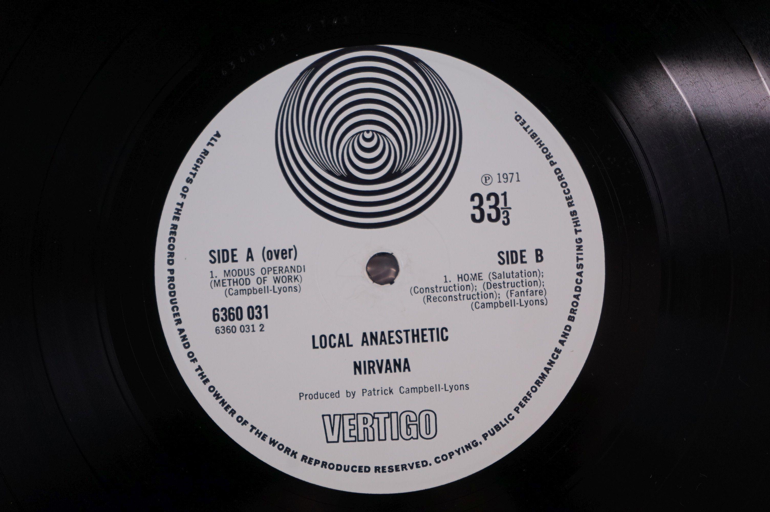 Vinyl - Nirvana Local Anaesthetic LP on Vertigo VO 6360031 gatefold sleeve, swirl logo, swirl - Image 6 of 8