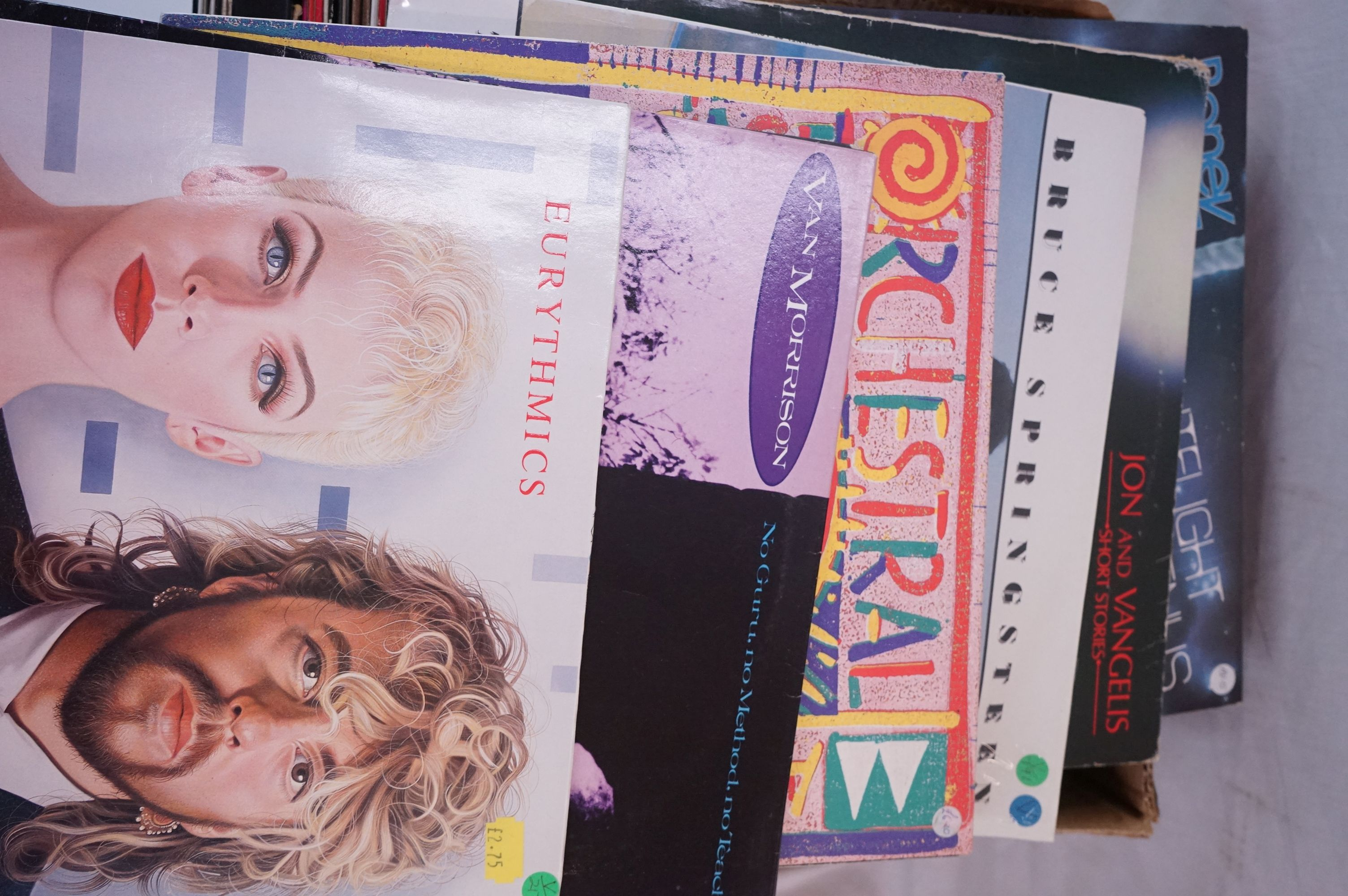 """Vinyl - Around 80 LPs and 12"""" single (mainly LPs) featuring Rock and Pop to include Blondie, Bon - Image 6 of 6"""