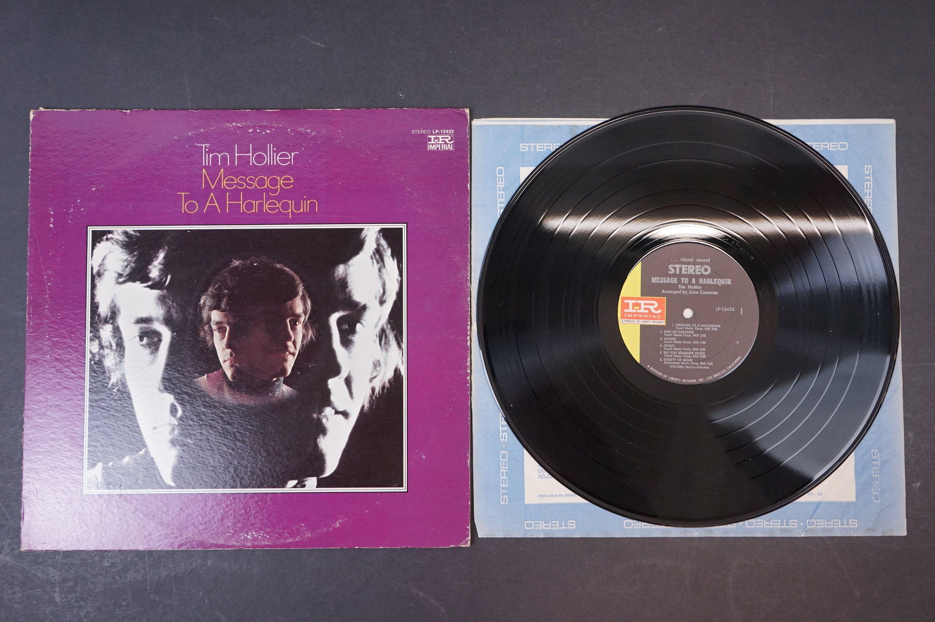 Vinyl - Acid Folk / Psych - Tim Hollier, Three scarce original pressing albums to include ?? - Image 6 of 7
