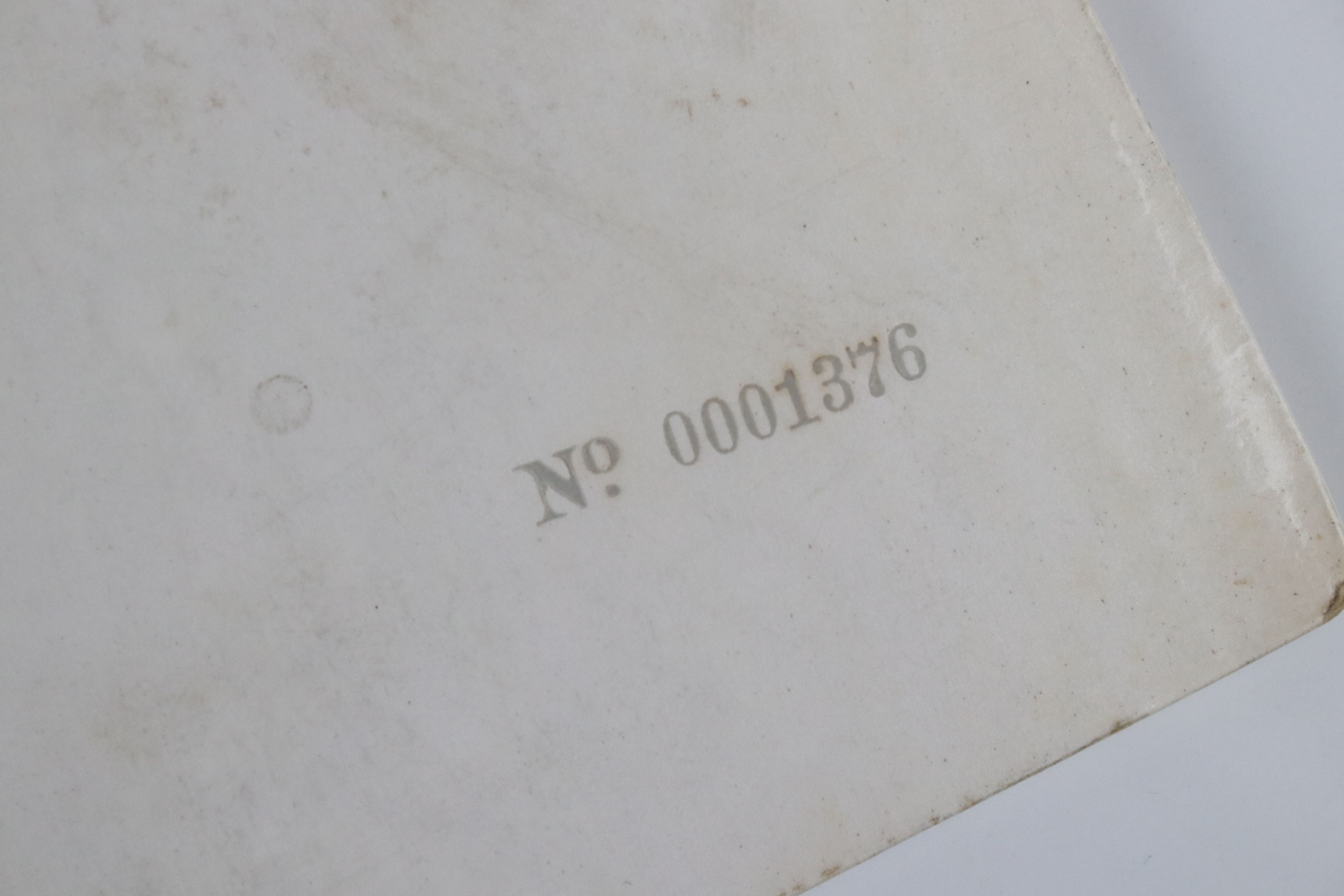 Vinyl - The Beatles White Album LP mono PMC7067-8, numbered 0001376 with 8 x coloured prints and - Image 10 of 10