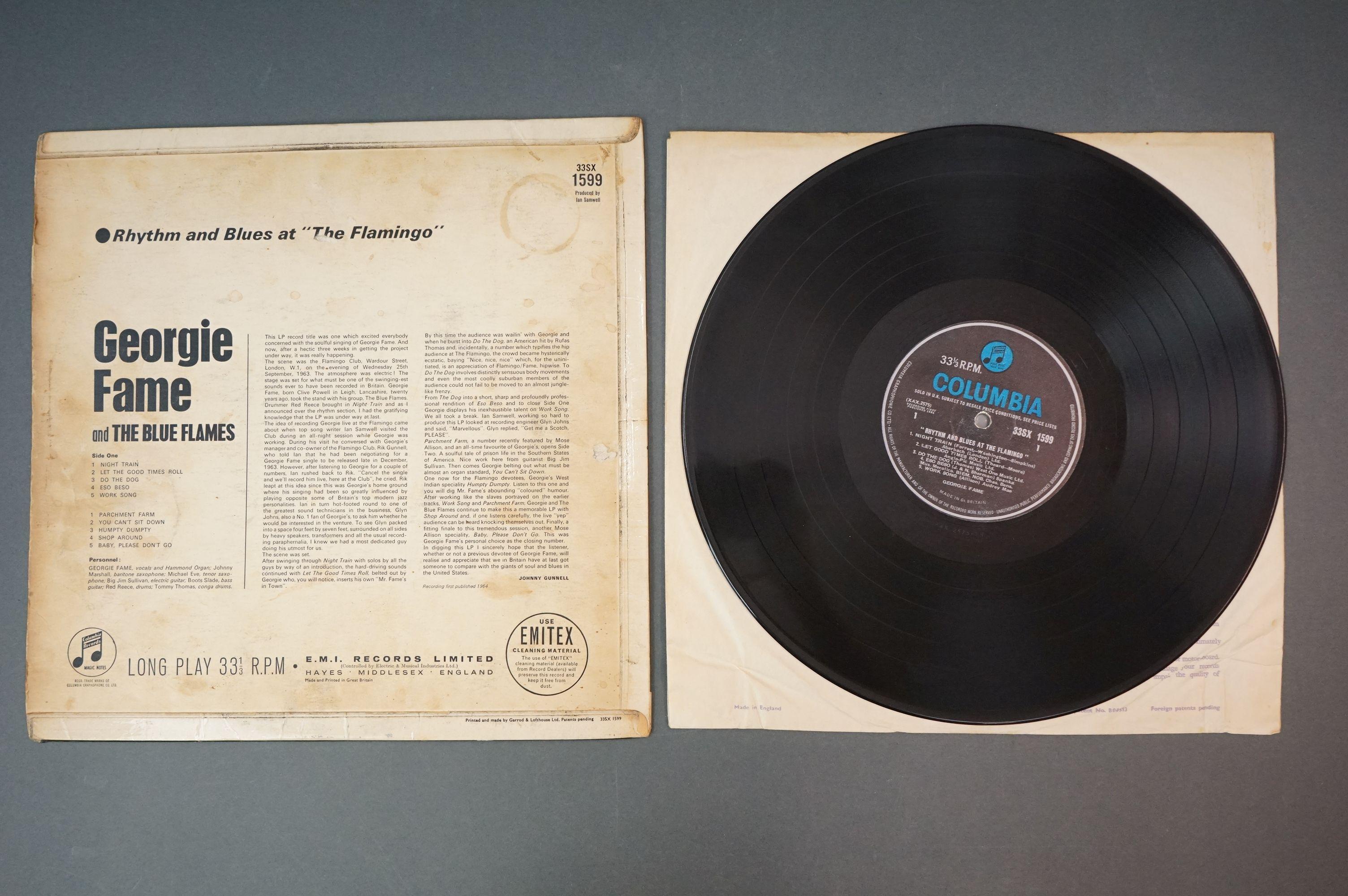 Vinyl - Georgie Fame Rhythm And Blues At The Flamingo (Columbia 33 SX 1599). Sleeve & Vinyl VG- - Image 3 of 4