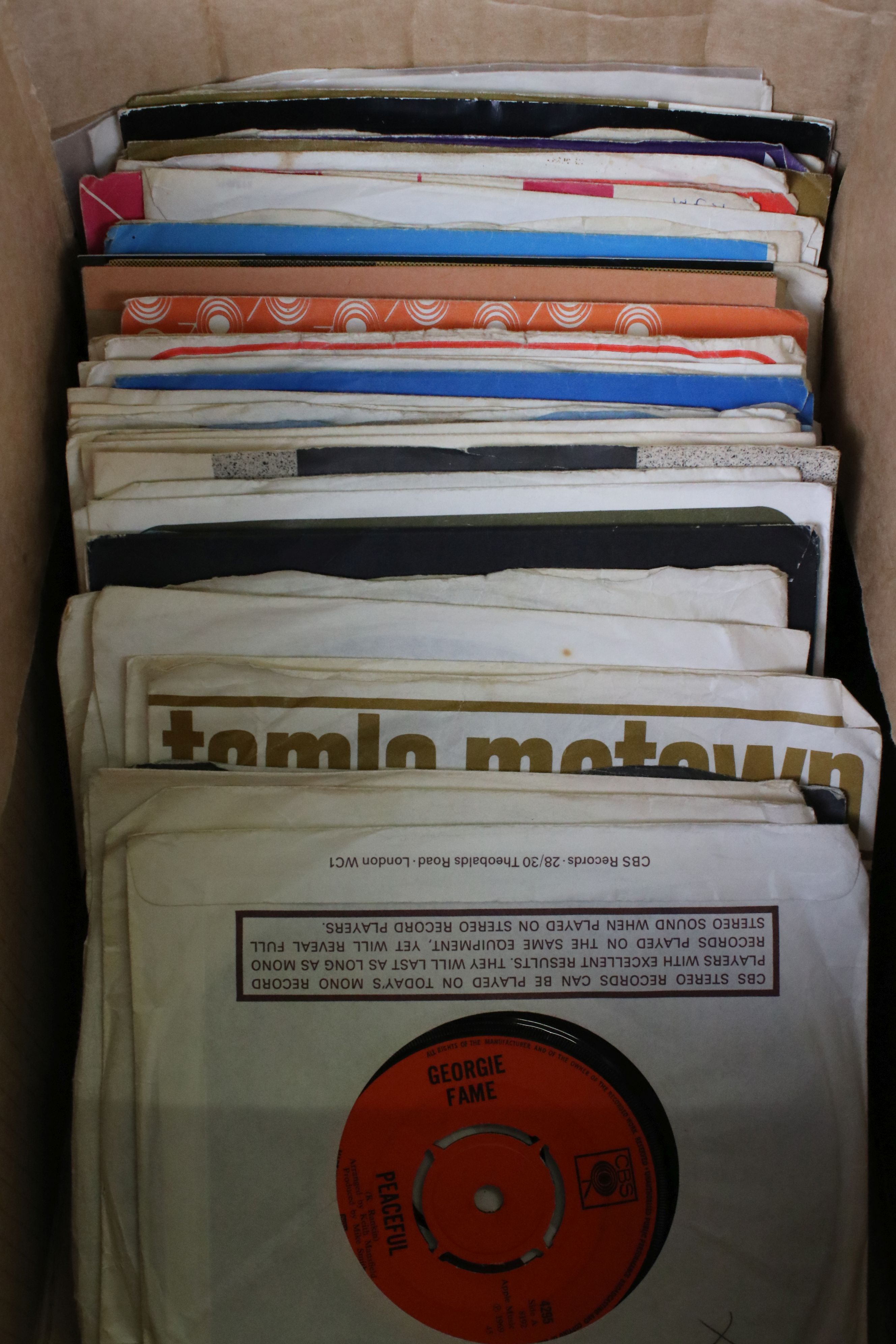 Vinyl - Collection of over 70 45's spanning genres and decades including Fleetwood Mac, Chicken - Image 2 of 15