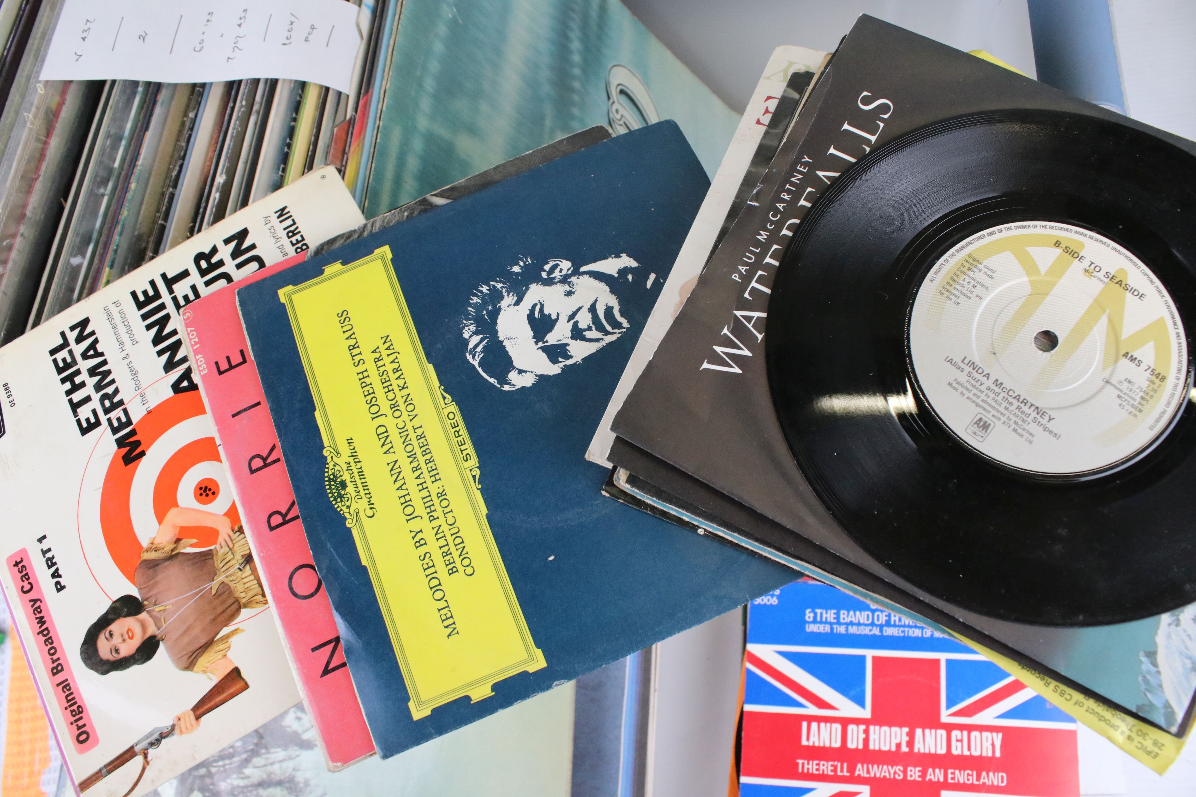 """Vinyl - Around 60 Pop and Rock LPs to include some 7"""" singles, artists feature The Eagles, ELP, Mike - Image 3 of 12"""
