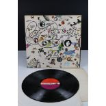 Vinyl - Led Zeppelin III LP on Atlantic Deluxe 2401002 red/maroon label, 1st pressing, sleeve vg