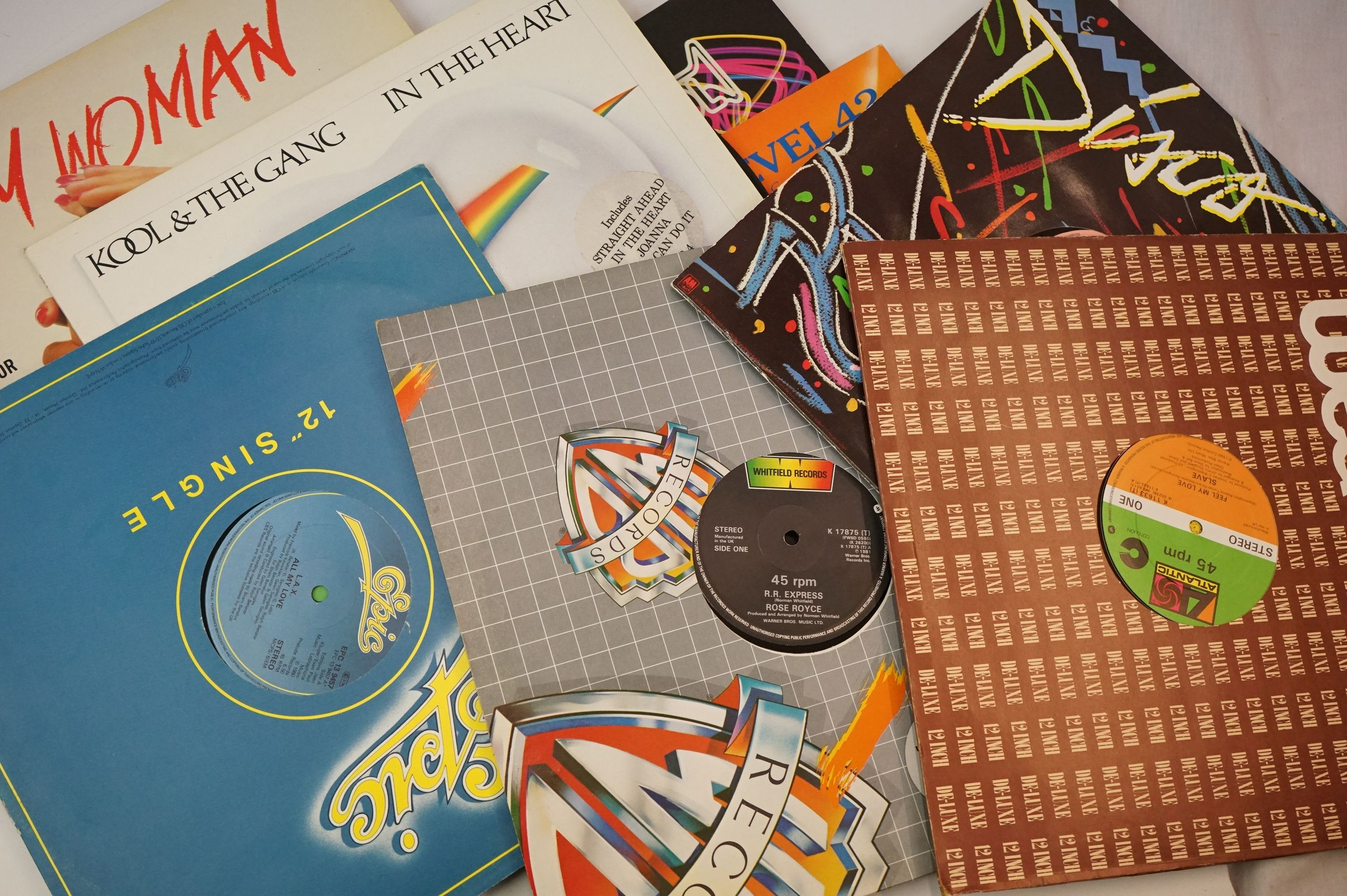"""Vinyl - Approx 150 vinyl LP's and 12"""" Singles mainly rock and pop to include Rick Wakeman, Yes, - Image 4 of 4"""
