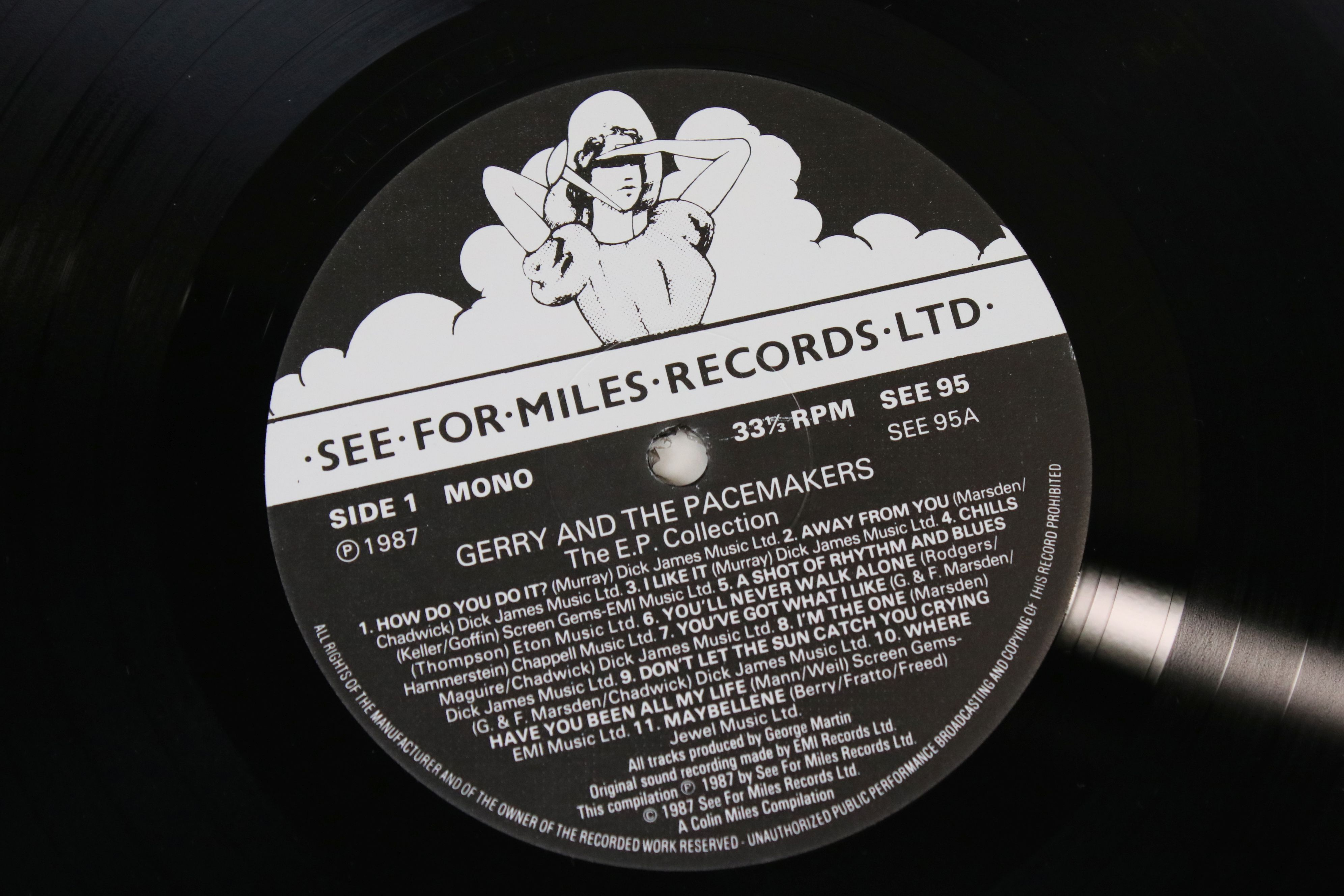 Vinyl - Three LPs on See For Miles Records to include The Hollies EP Collection SEE94, Gerry and the - Image 5 of 5